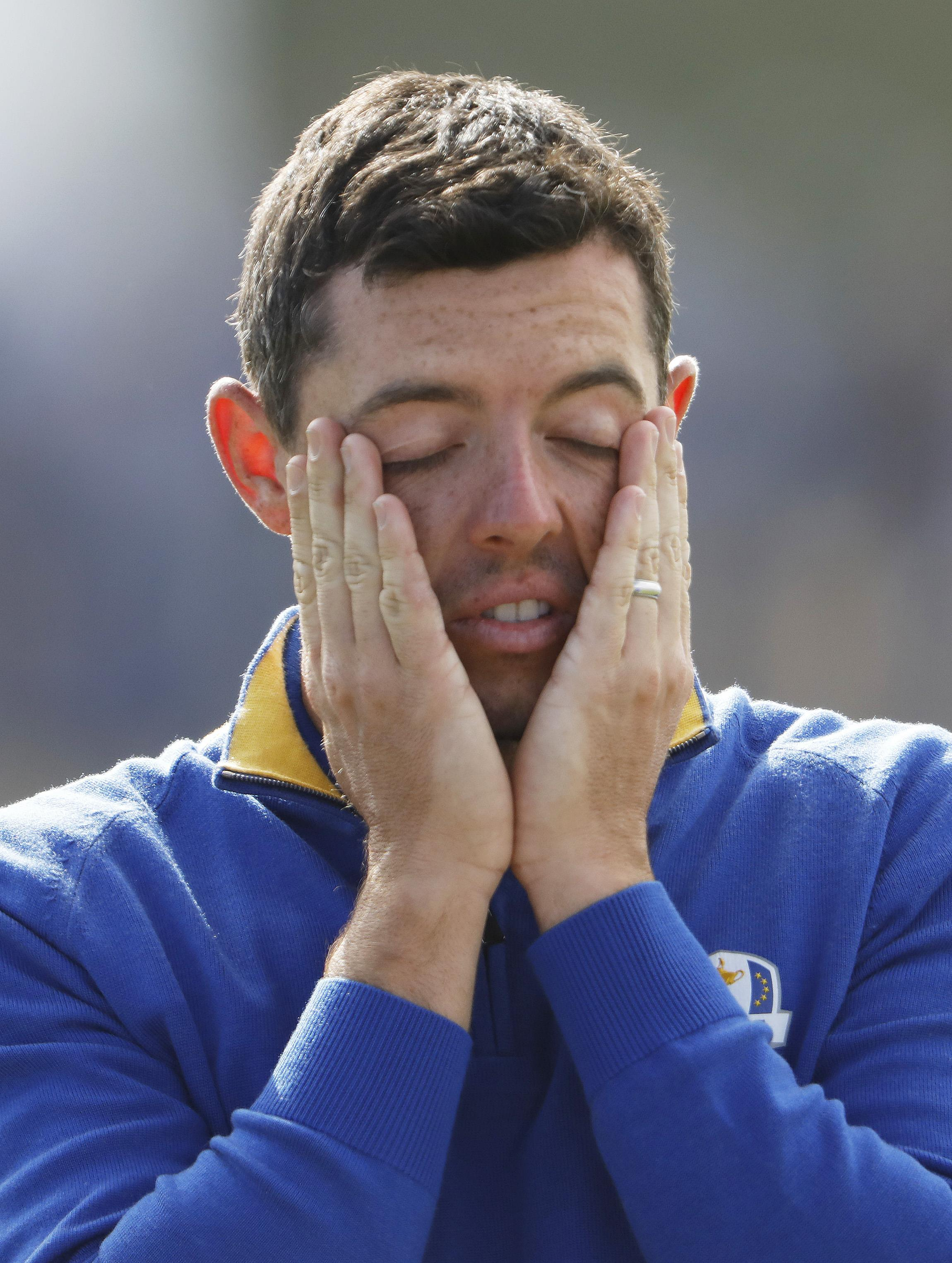 Rory McIlroy lost but it there was no famous USA comeback to be had
