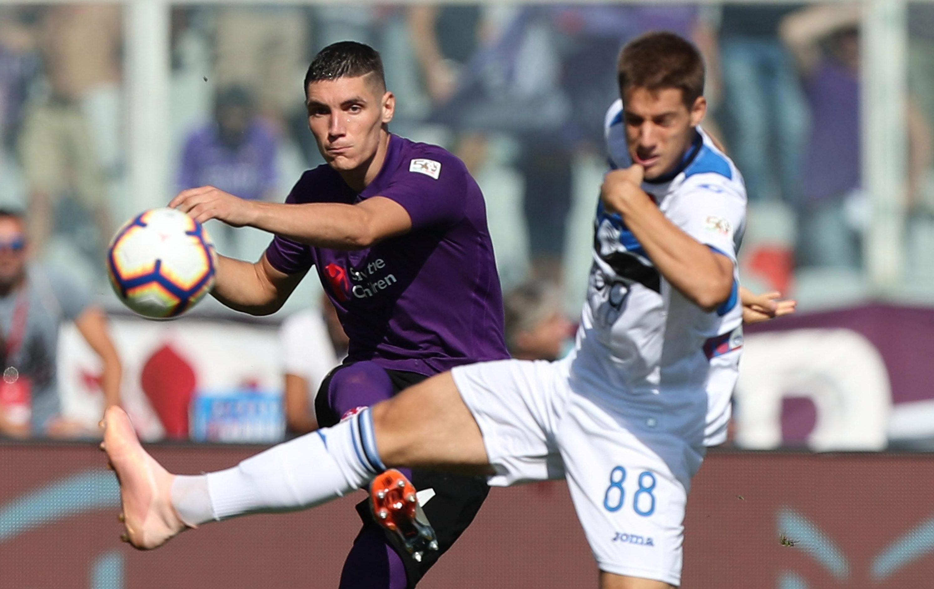 Nikola Milenkovic has dealt Manchester United and City a blow