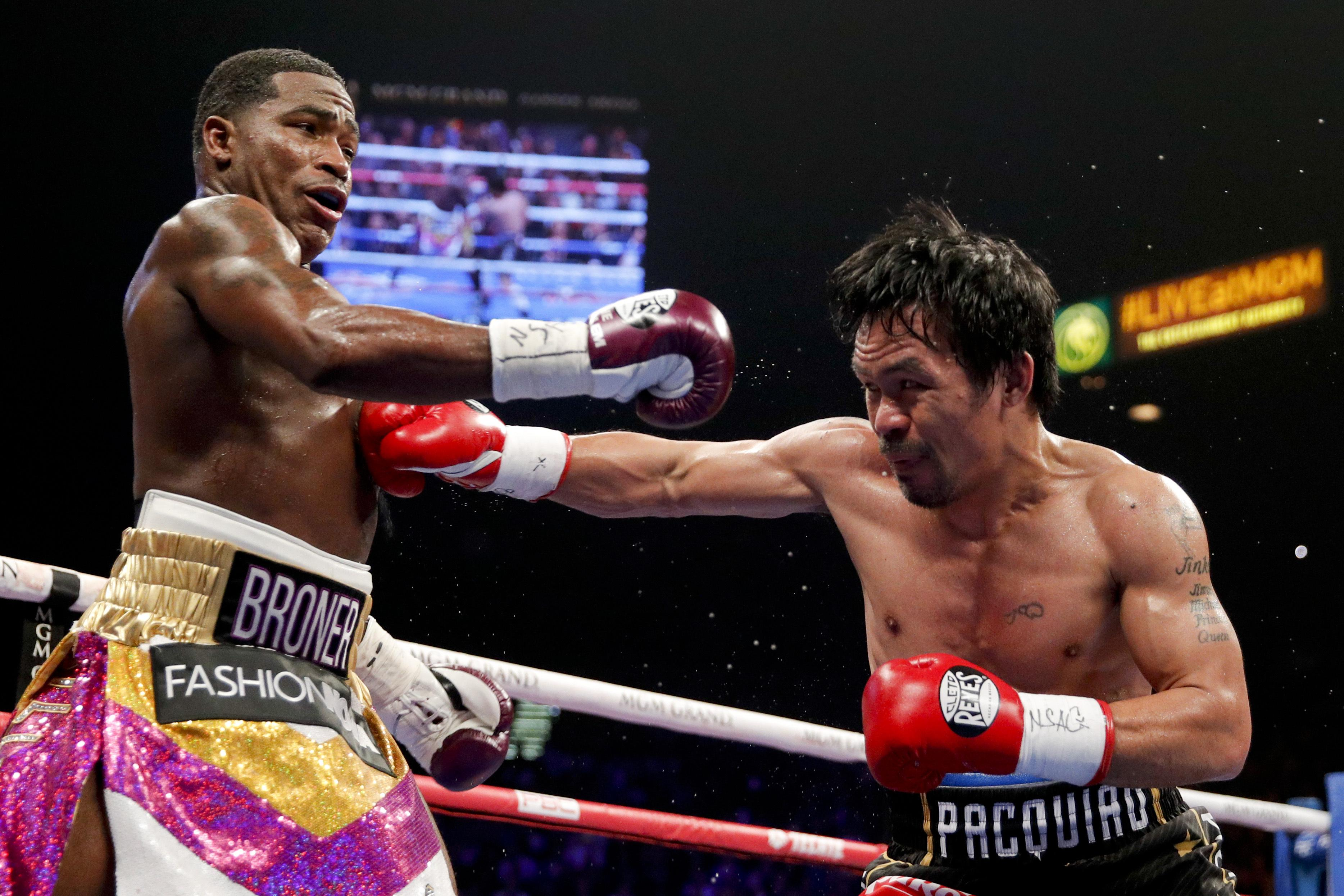 Pacquiao pressured Broner from the opening bell and got the win after 12 rounds
