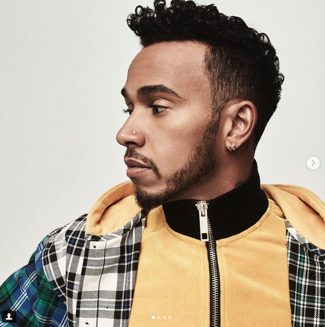 Check this out as Lewis Hamilton models his own line called TommyXLewis