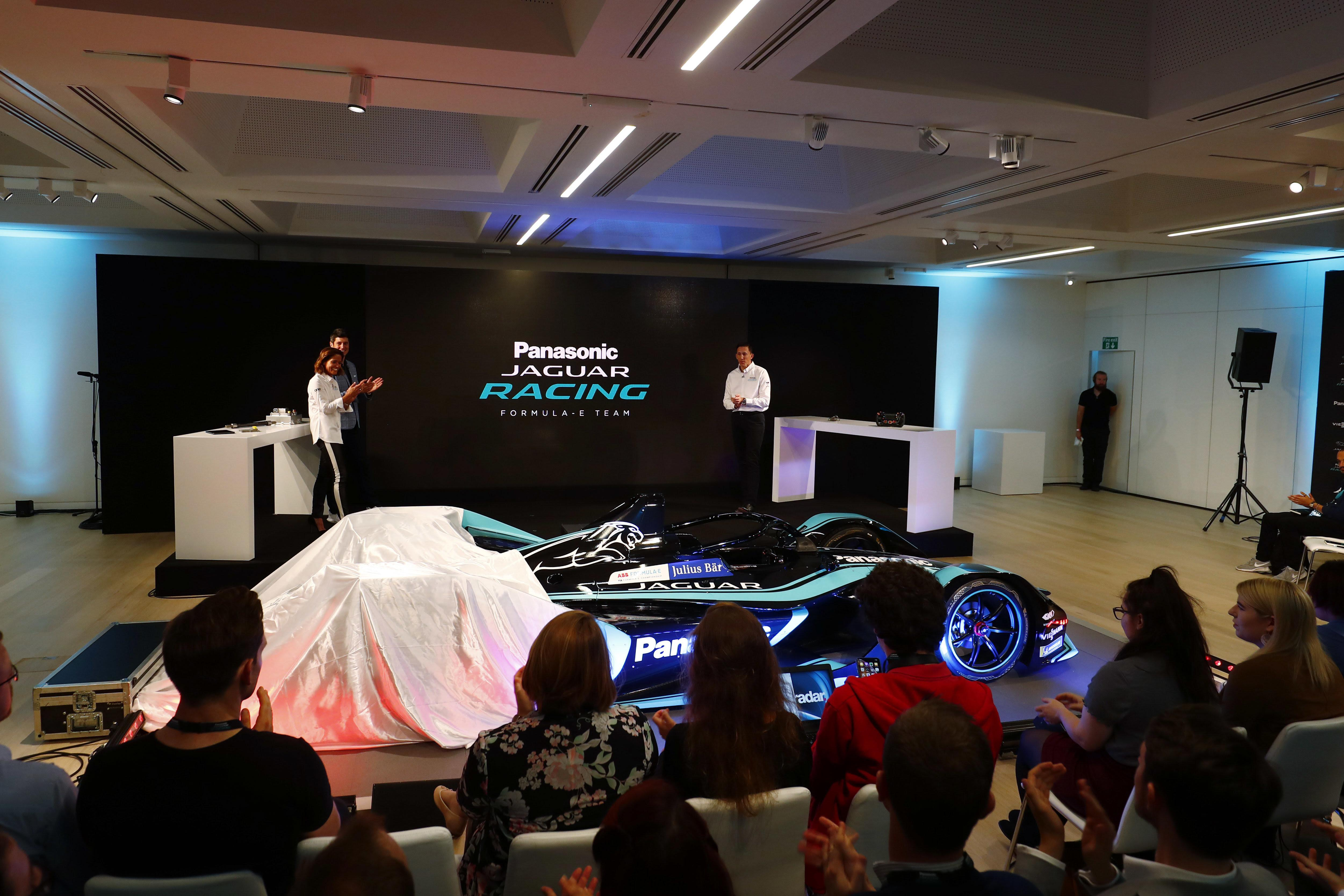Panasonic Jaguar launched their Gen2 car at the The National Design Museum