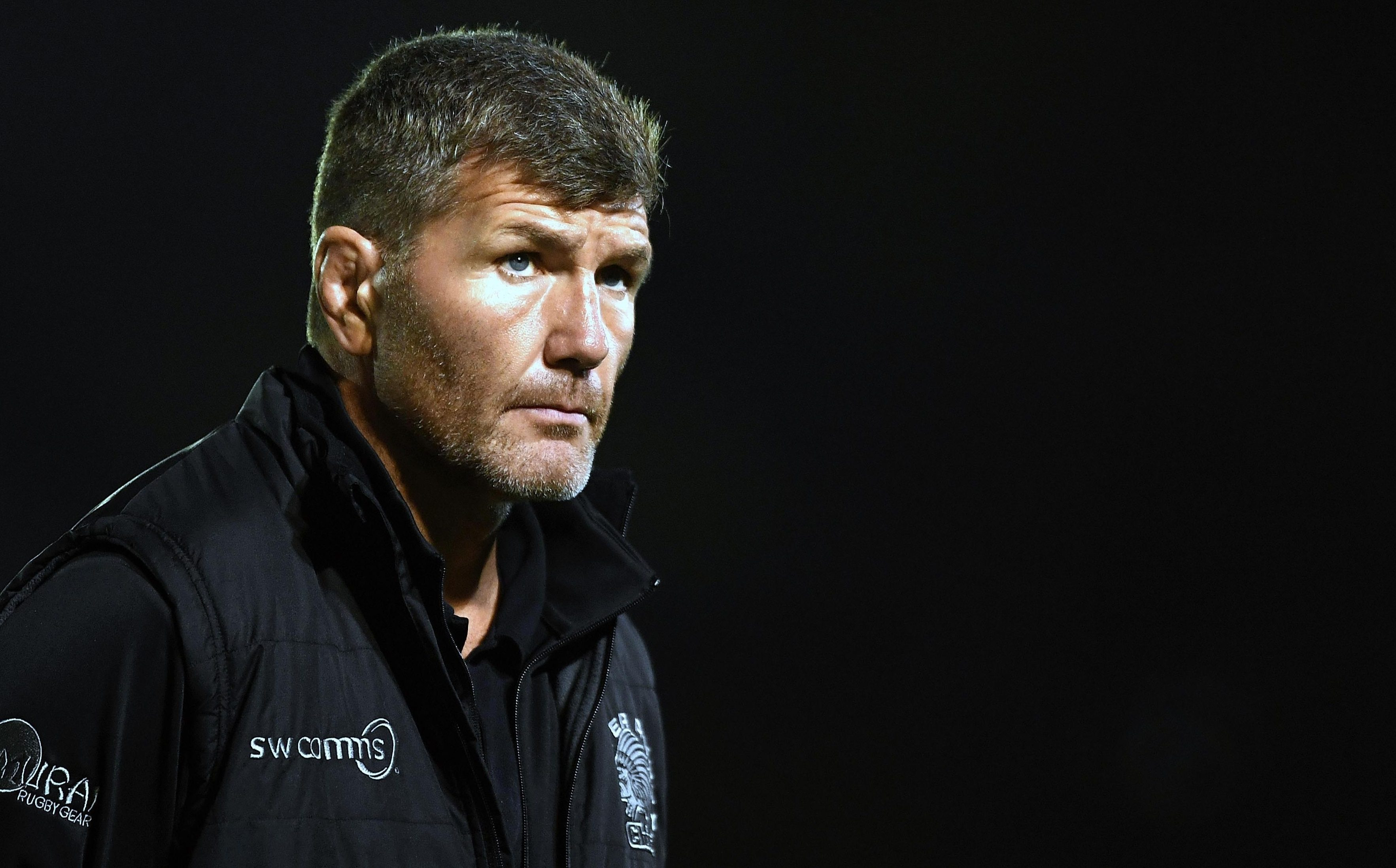 Exeter Chiefs boss Rob Baxter is upping the ante at Sandy Park as the Champions Cup comes to town