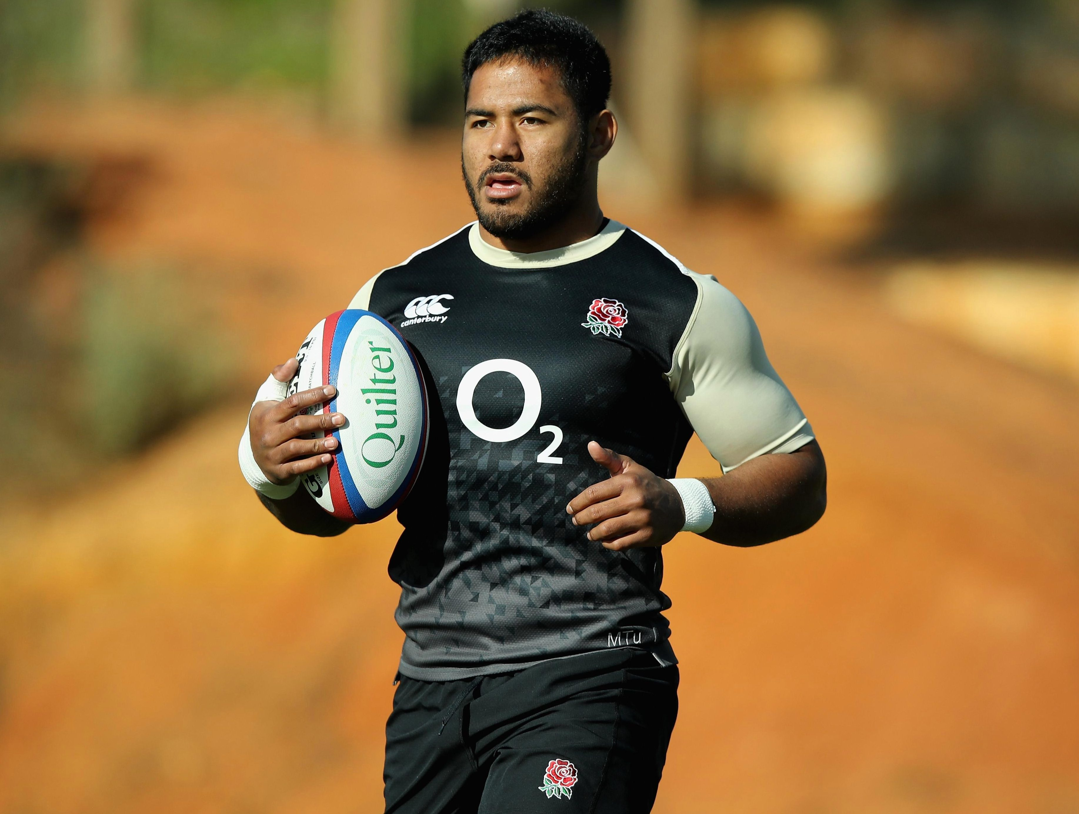 Manu Tuilagi looks to be gunning for South Africa