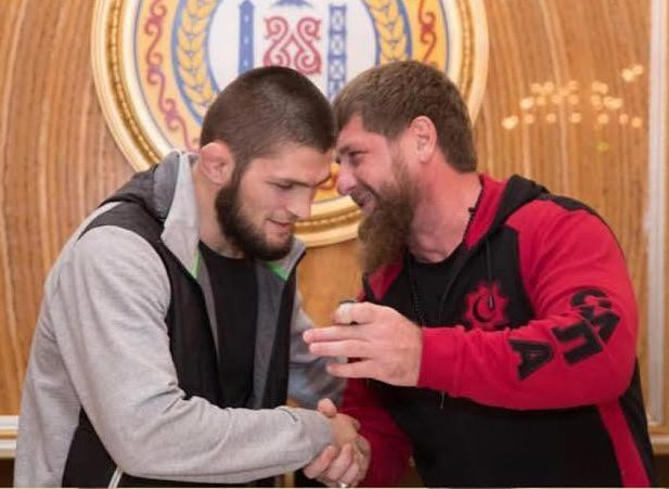 Conor McGregor and Khabib Nurmagomedov, show their respect after a build-up and fight beset with animosity