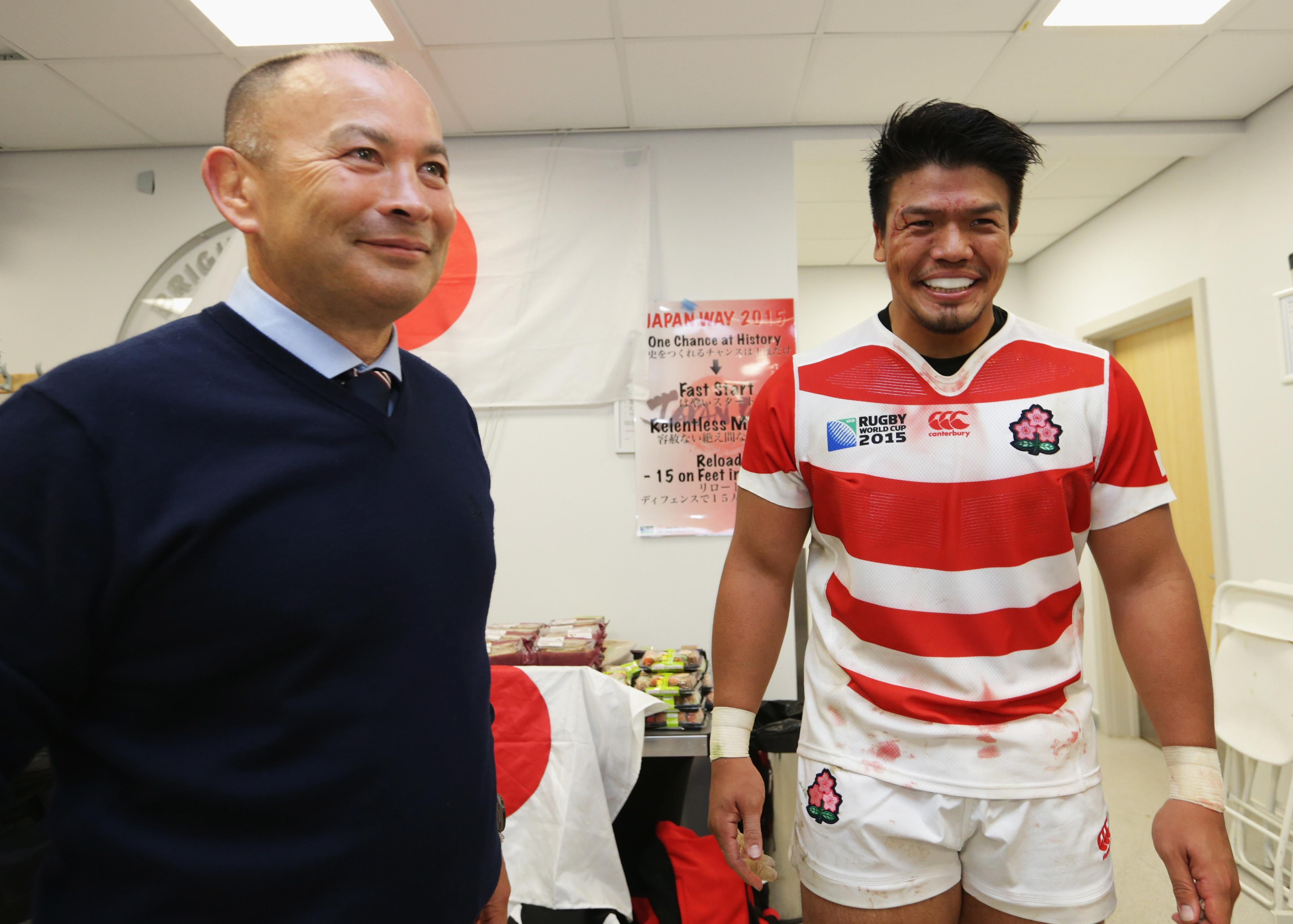Eddie Jones' Japan shocked sport by beating South Africa in the 2015 World Cup