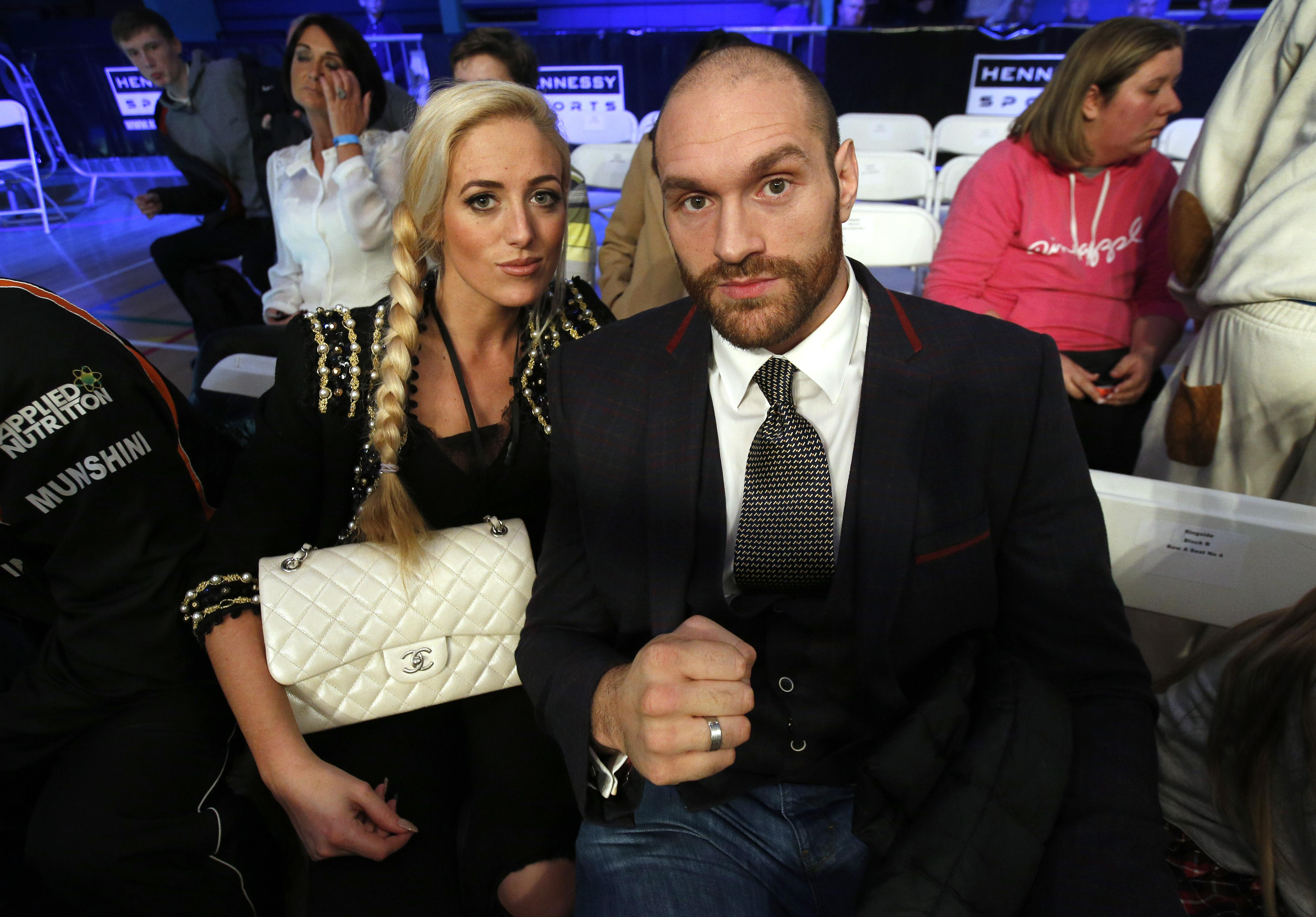 Tyson Fury says even wife Paris thought he had allowed himself to get too fat to fight