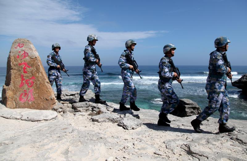 China has built up military bases on artificial islands such as Woody Island in the disputed Paracel Archipelago