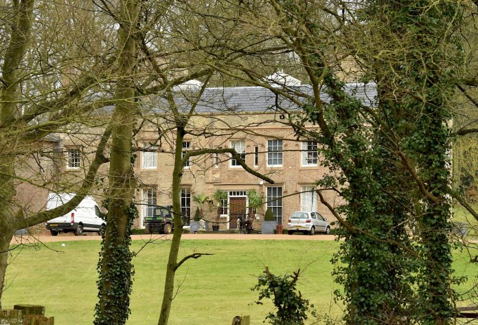 Villagers claimed that Bayford was tired of the hard work needed to maintain the Grade II listed villa