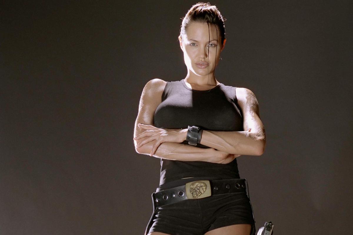 Angelina Jolie Sexi Movie angelina jolie's lara croft voted the sexiest female film