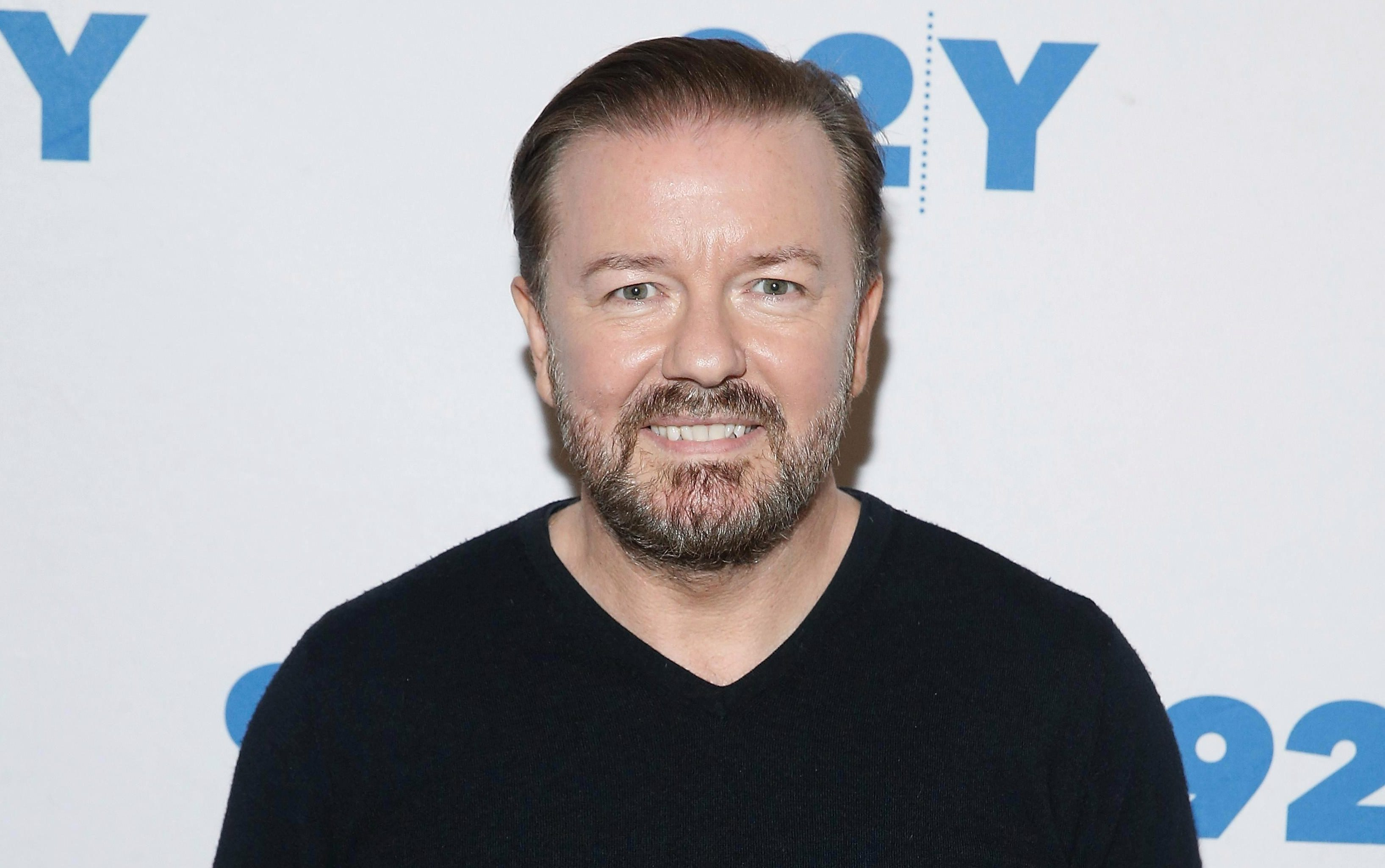 Ricky Gervais also joined the debate, and claimed other riders will have to up their game to beat her