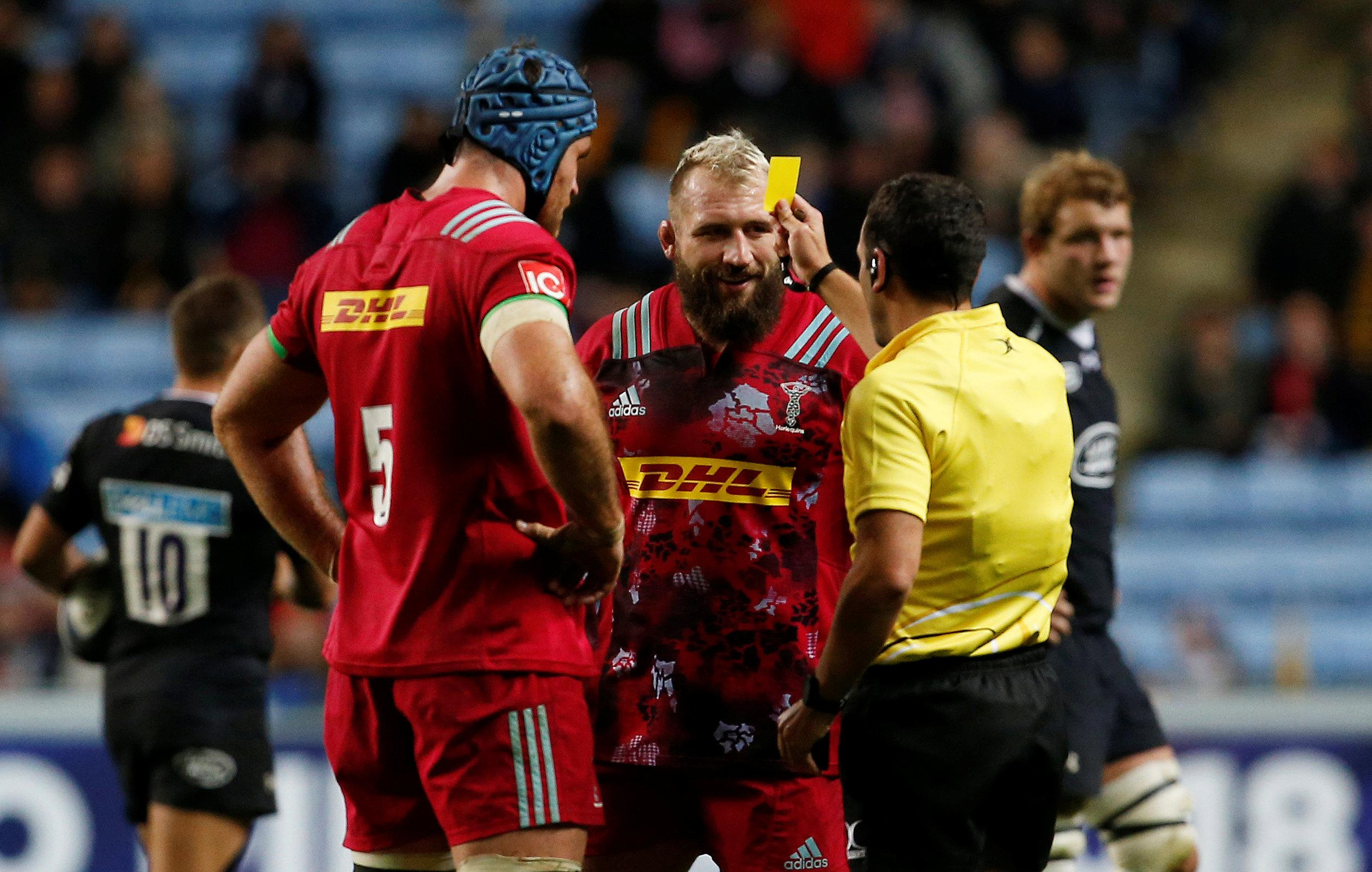 Marler revealed his tactic was to pick up red and yellow cards to avoid having to spend extended periods with England away from his family