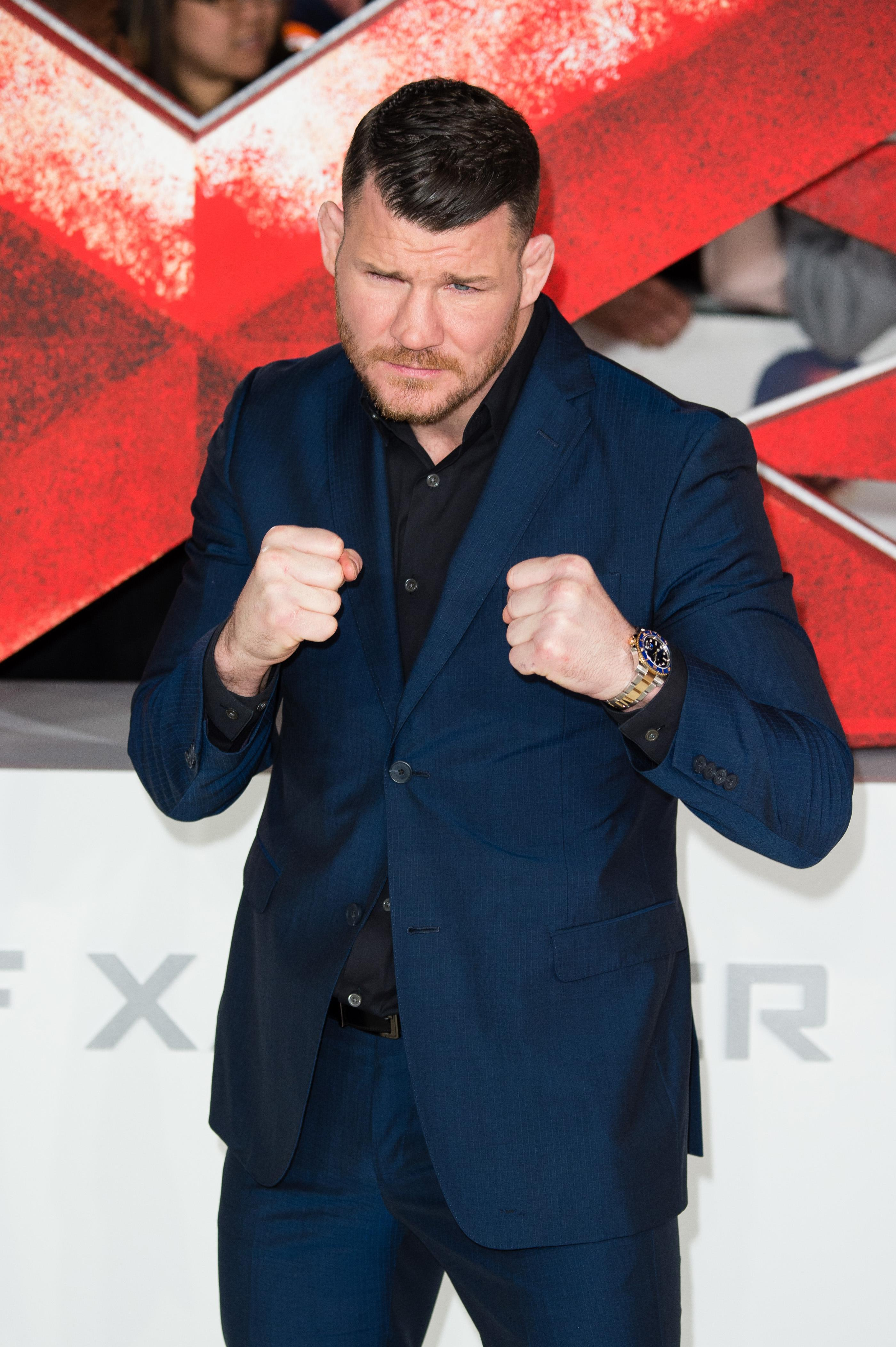 Michael Bisping has moved into films since retiring