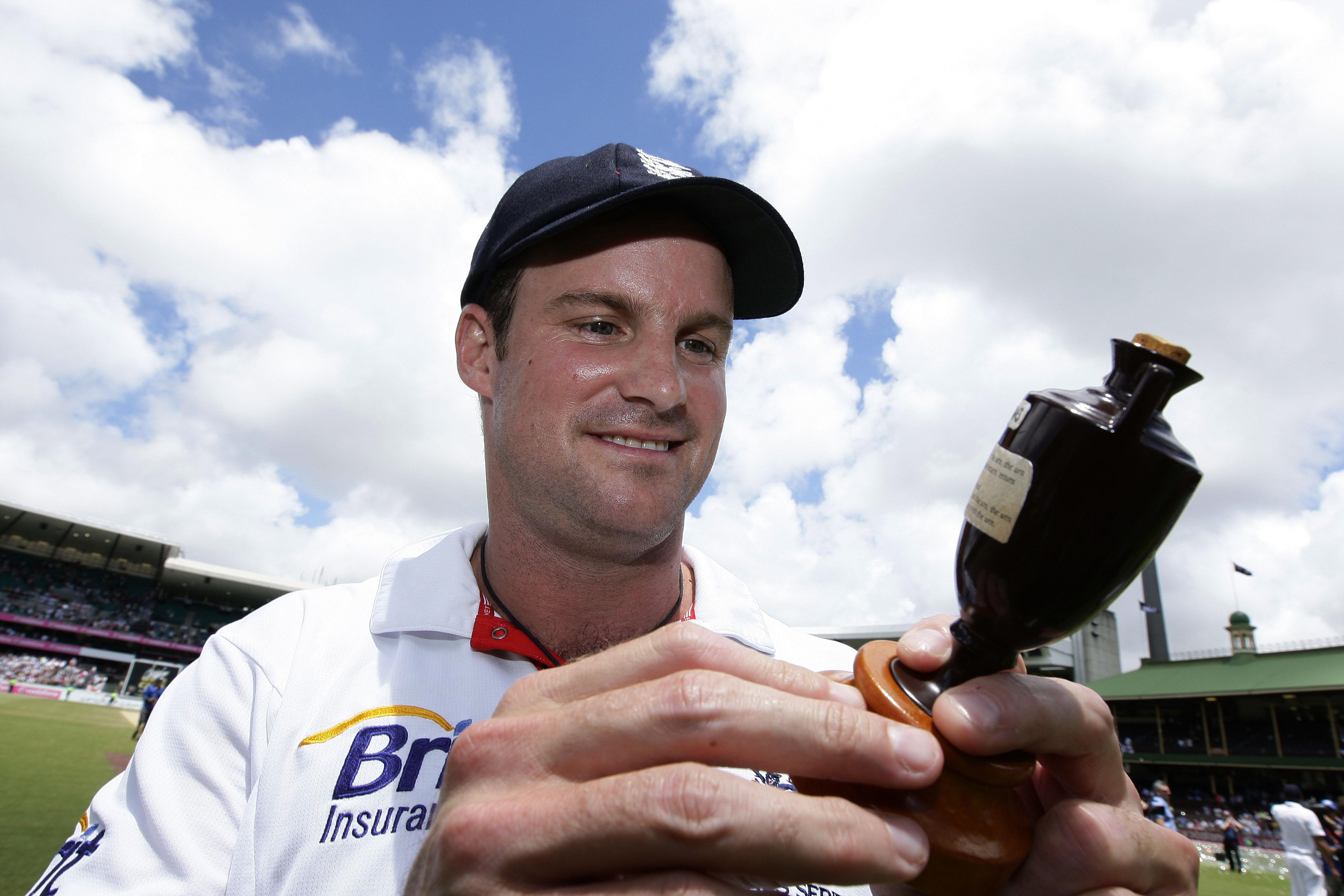Andrew Strauss was an Ashes-winning captain as a player