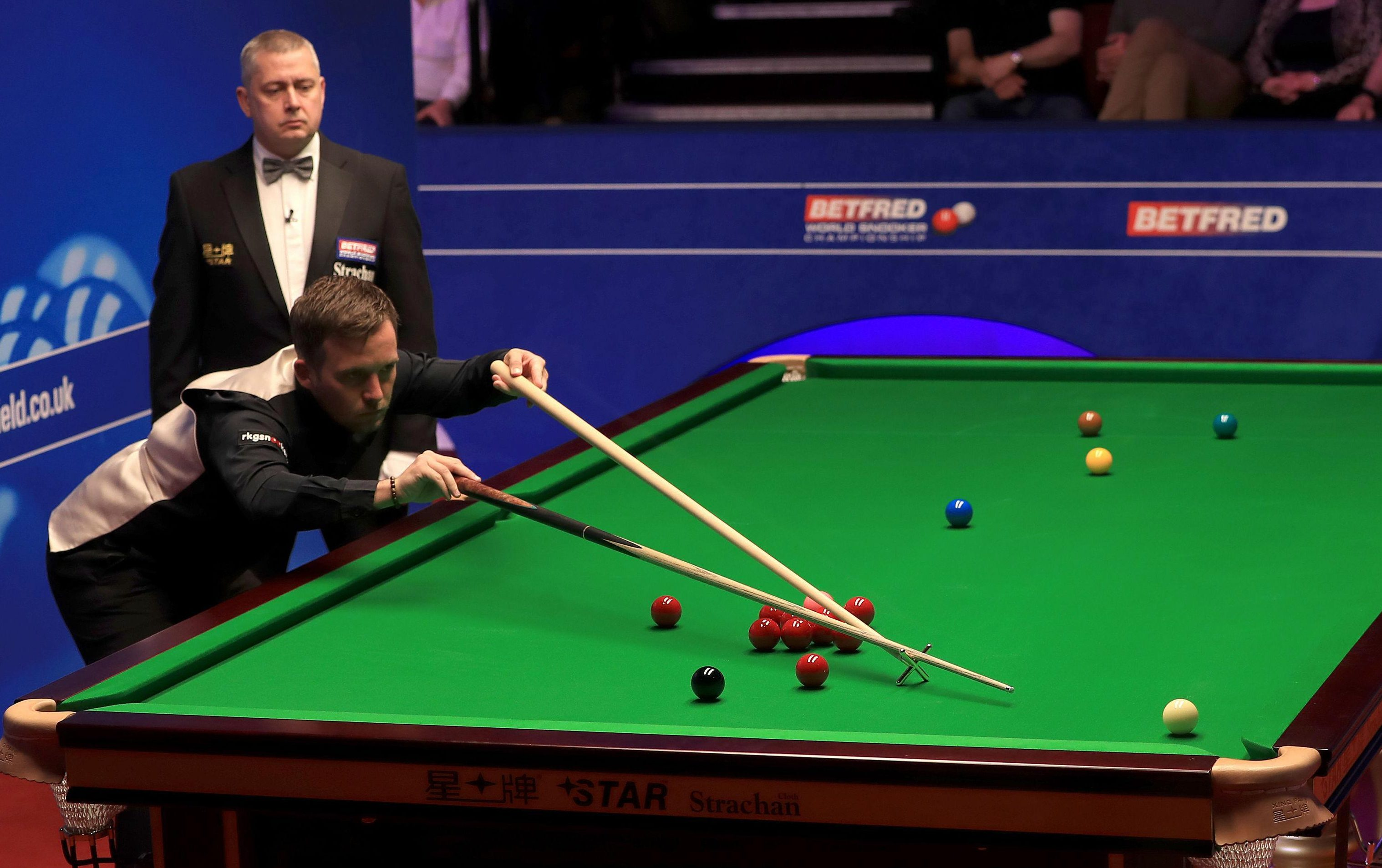 The World Professional Billiards and Snooker Association have temporary banned the Welshman until the outcome of a disciplinary hearing is confimed