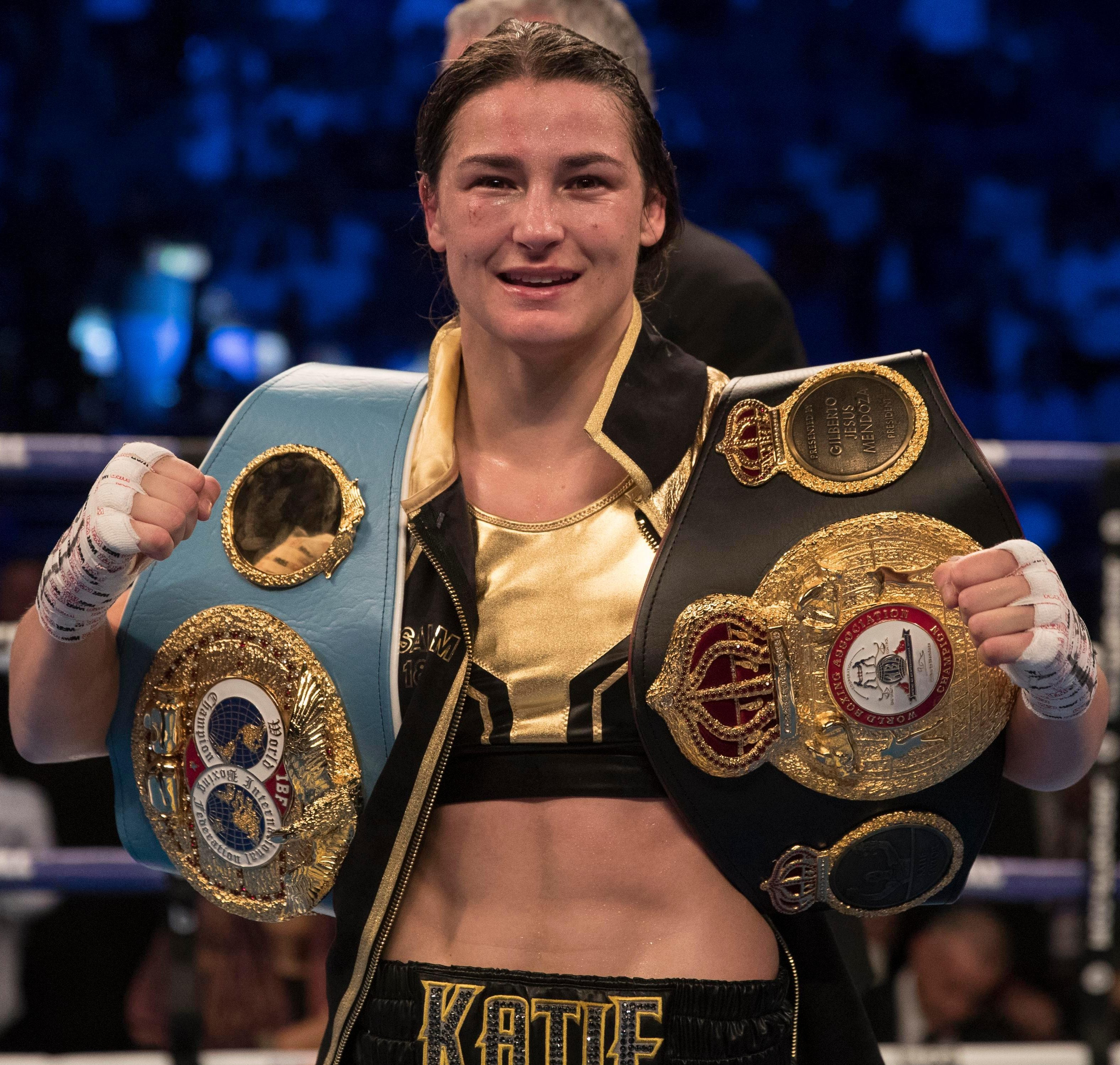 Taylor has an unblemished 10-fight record as a pro
