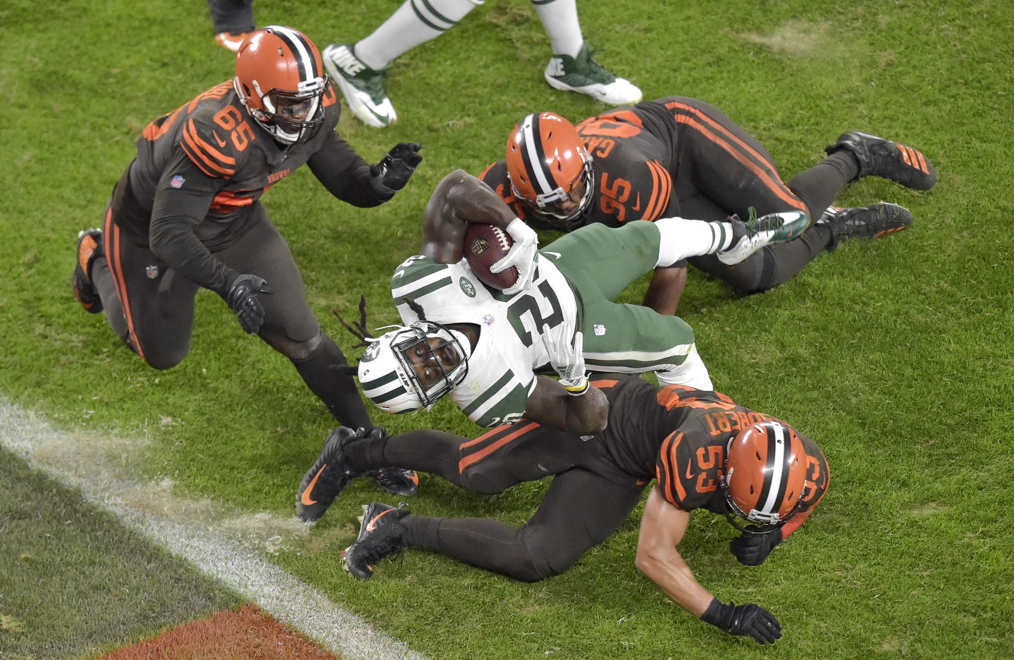 Browns fans were furious at the player, who spent four seasons in Cleveland