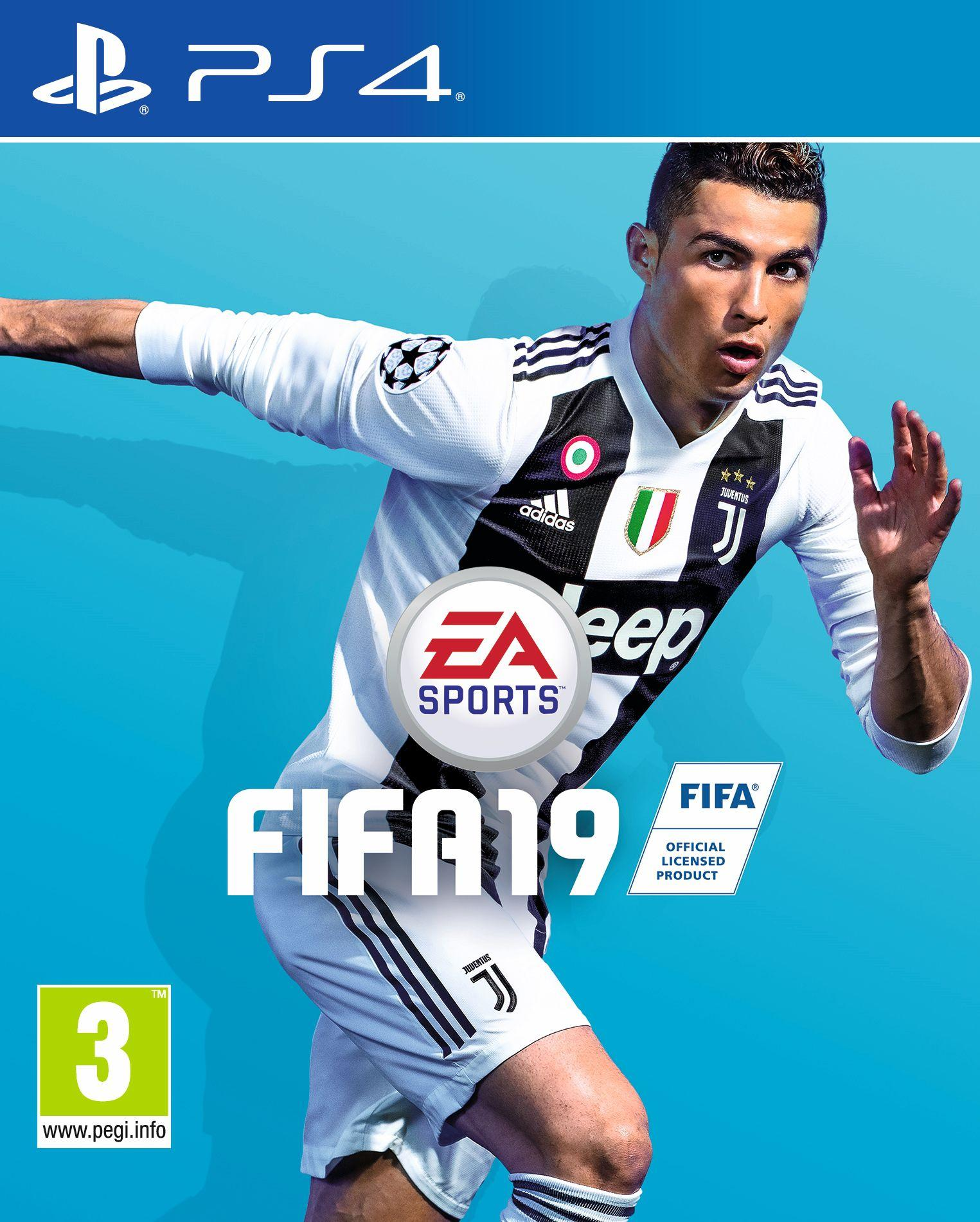 Ronaldo has been removed from the online branding for Fifa19