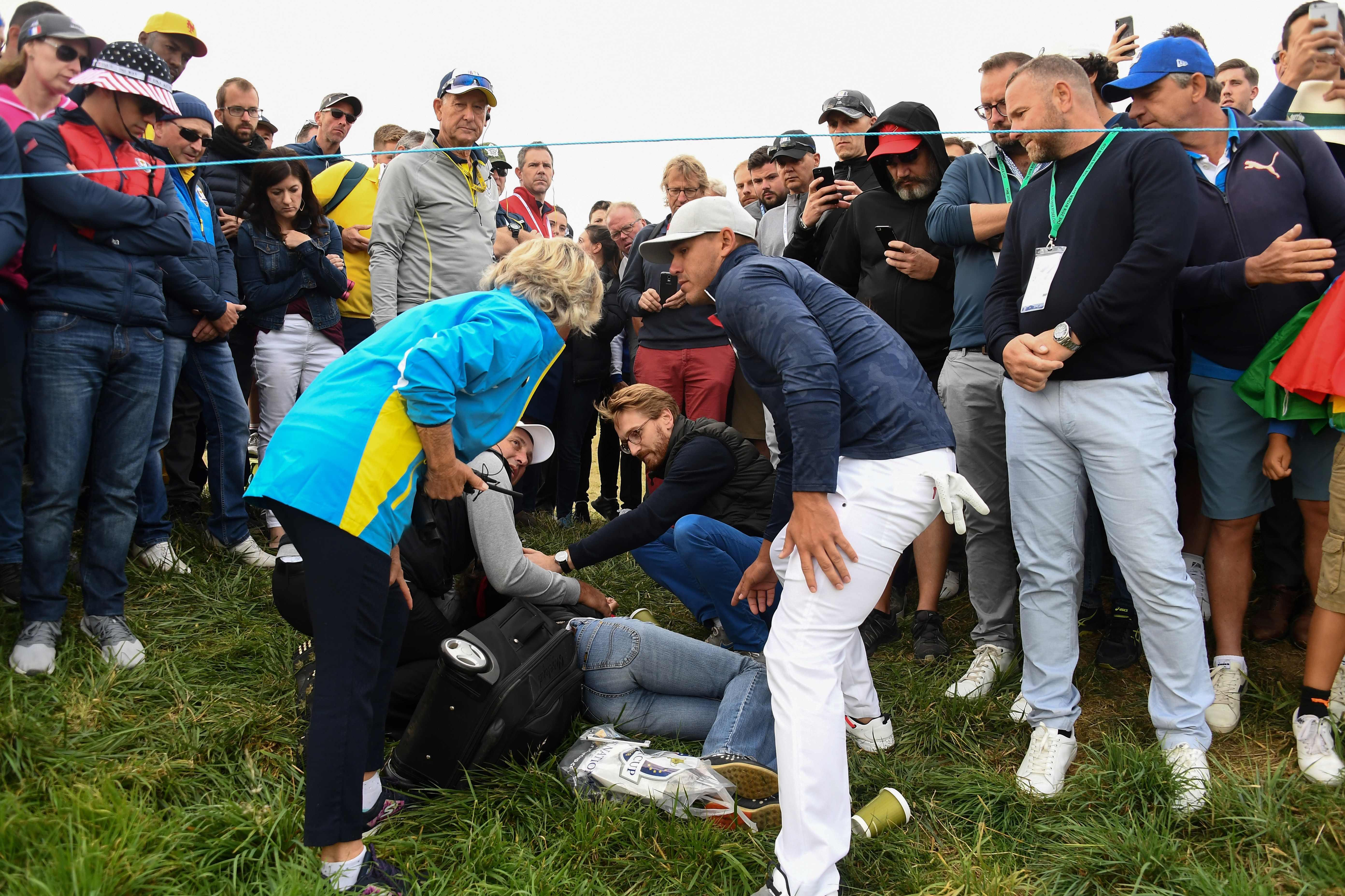 """Koepka has also revealed he has been left """"heartbroken"""" after his shot caused the injury to Remande"""