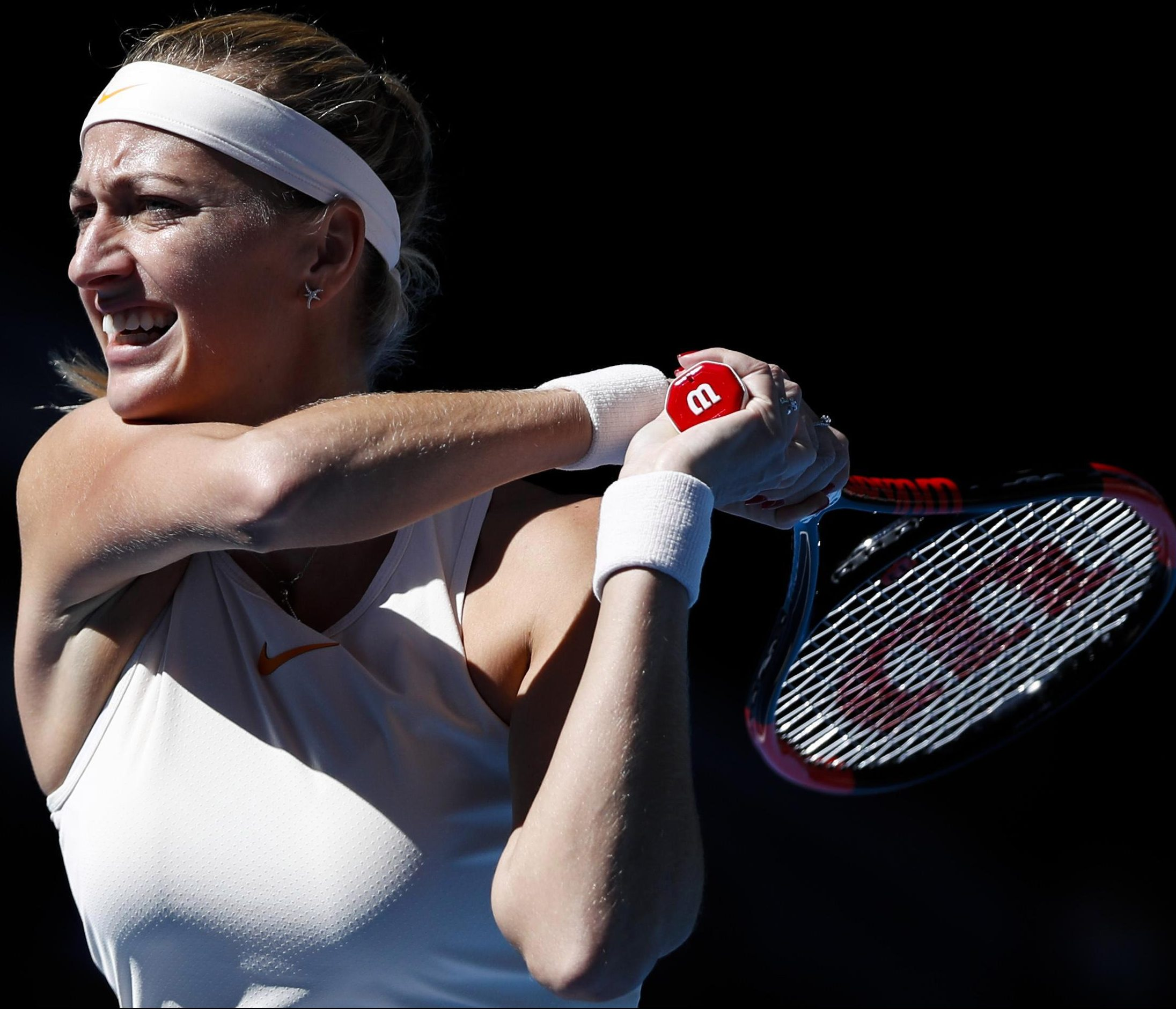Petra has 25 career titles and is one of the world's richest tennis players