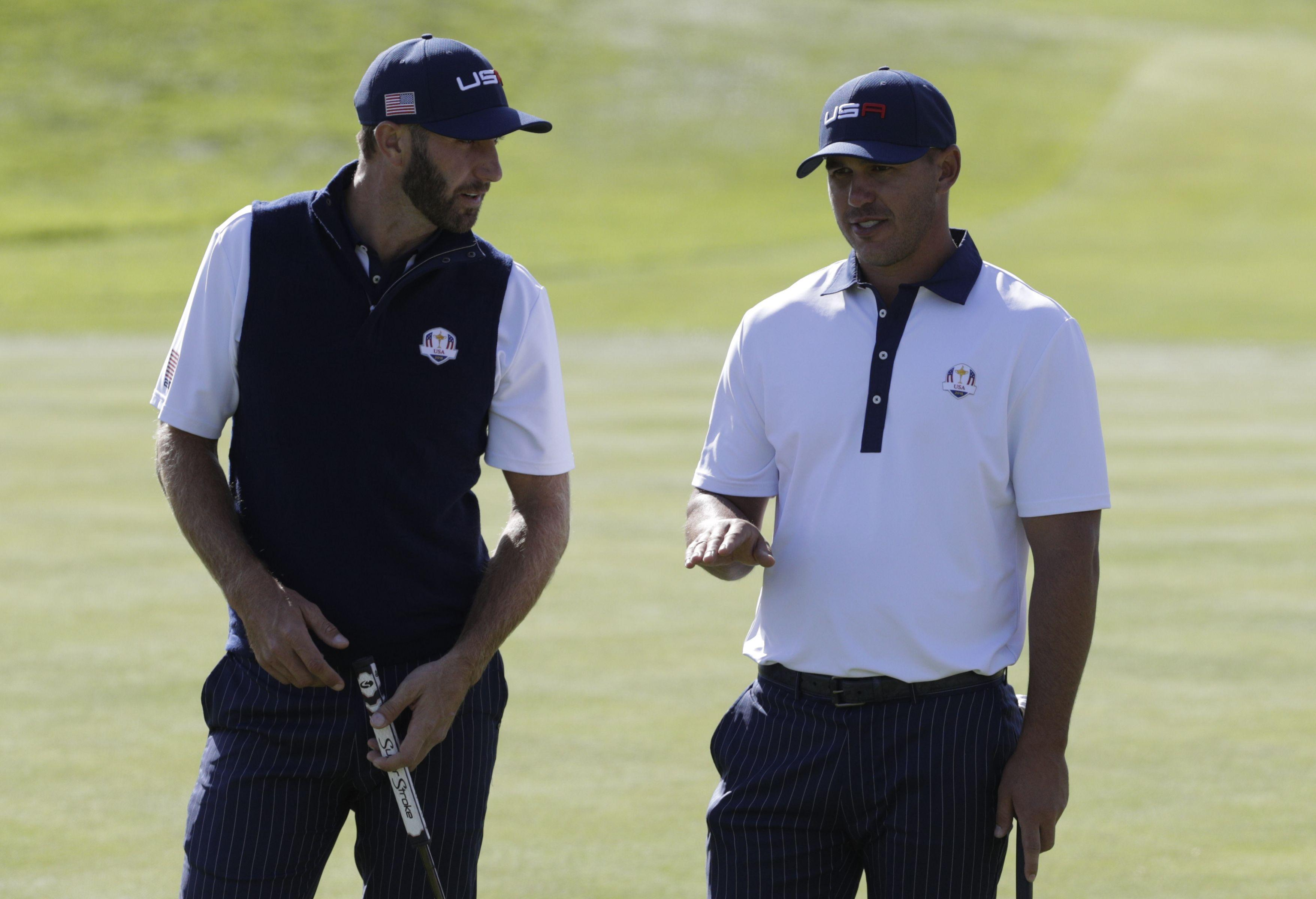 Dustin Johnson and Brooks Koepka became embroiled in a bitter row which tore the USA team apart