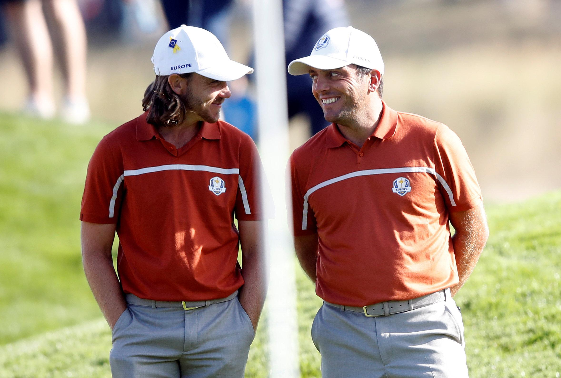 The pair stormed their way into the record books as Europe reclaimed the Ryder Cup