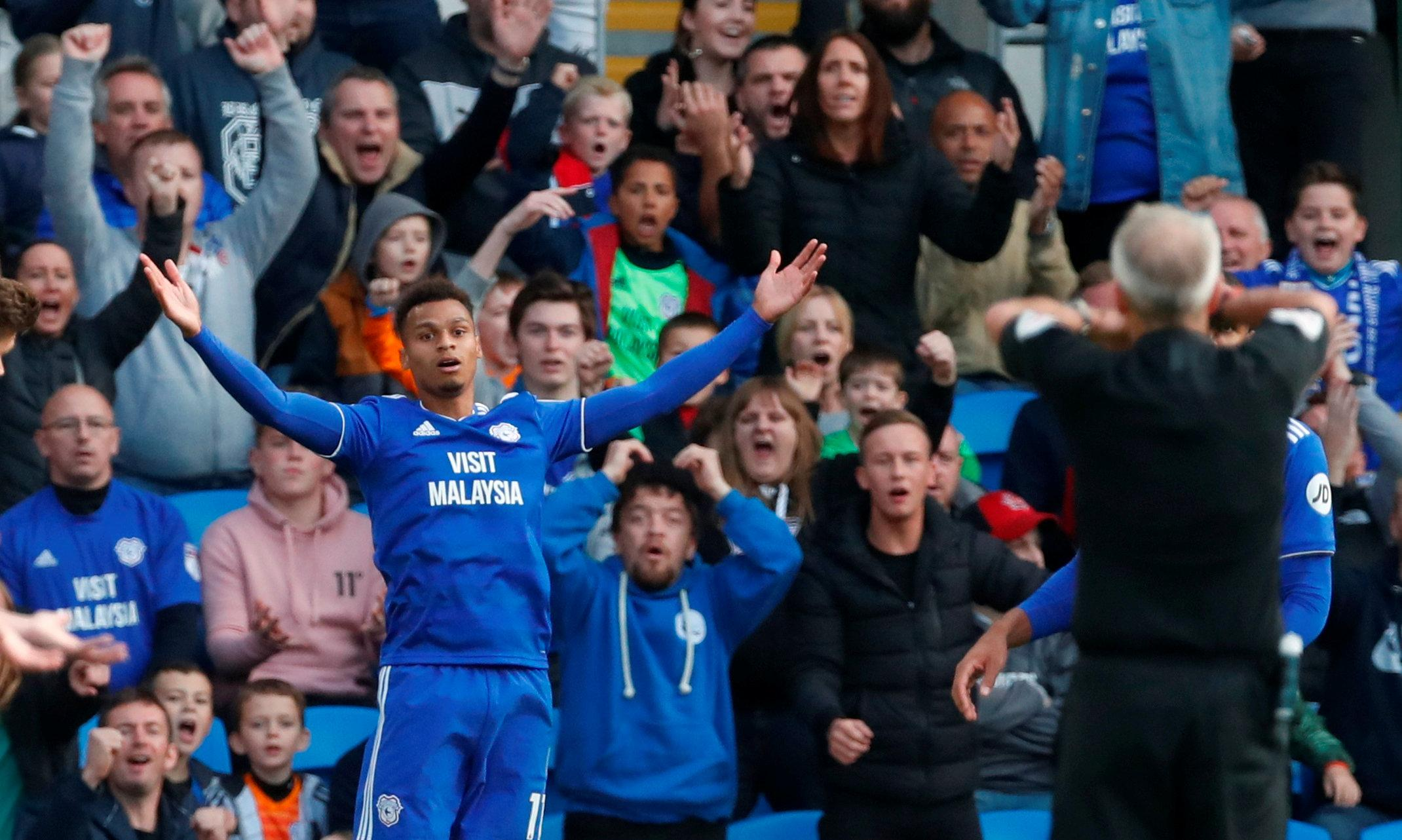 Cardiff's match with Burnley actually saw just 40 minutes and 50 seconds of action
