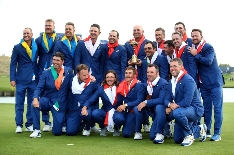 He was one of five vice-captains under Bjorn as Europe regained the Ryder Cup