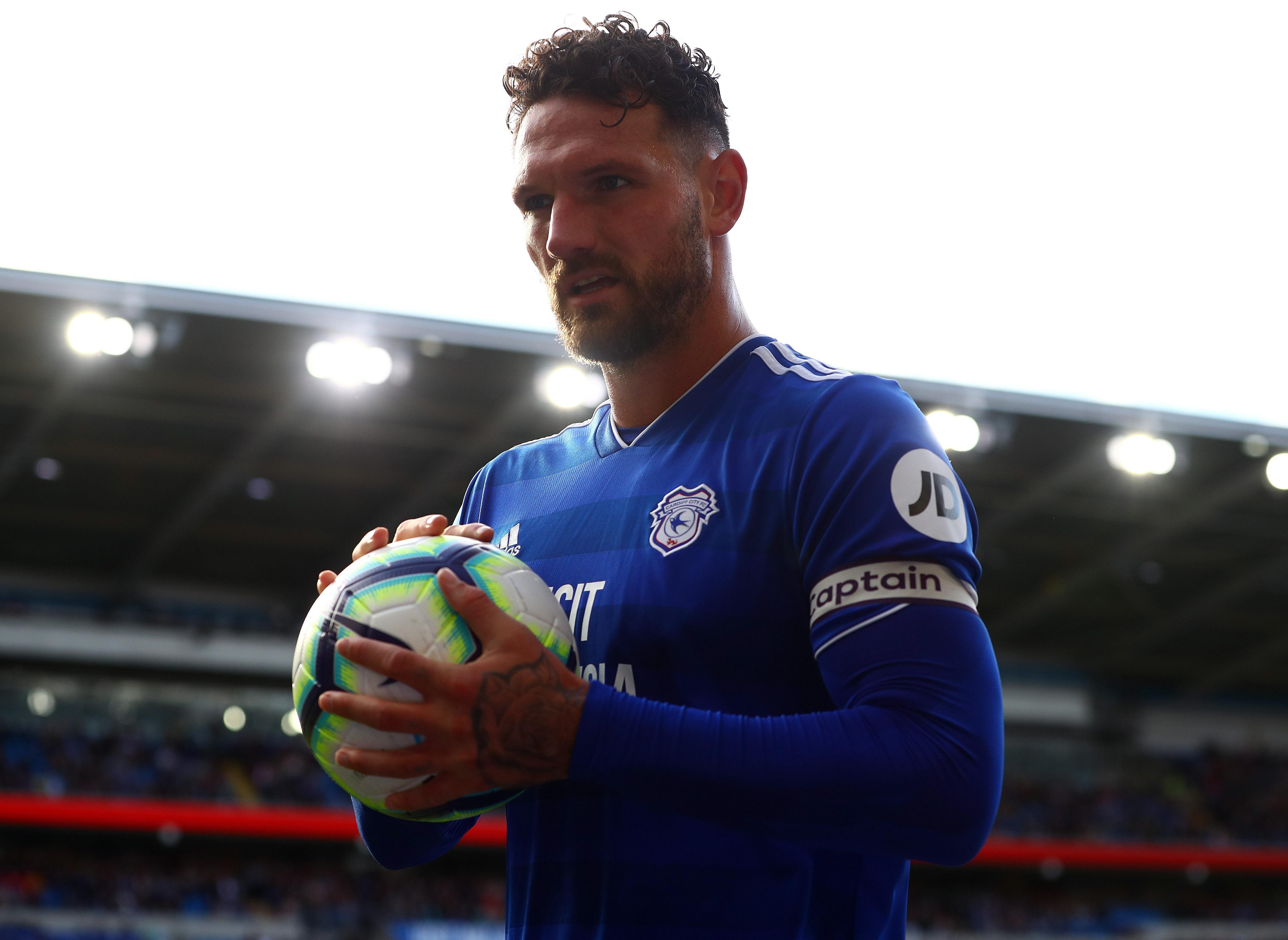 Sean Morrison spent eight minutes taking 20 throw-ins during the clash between Cardiff and Burnley