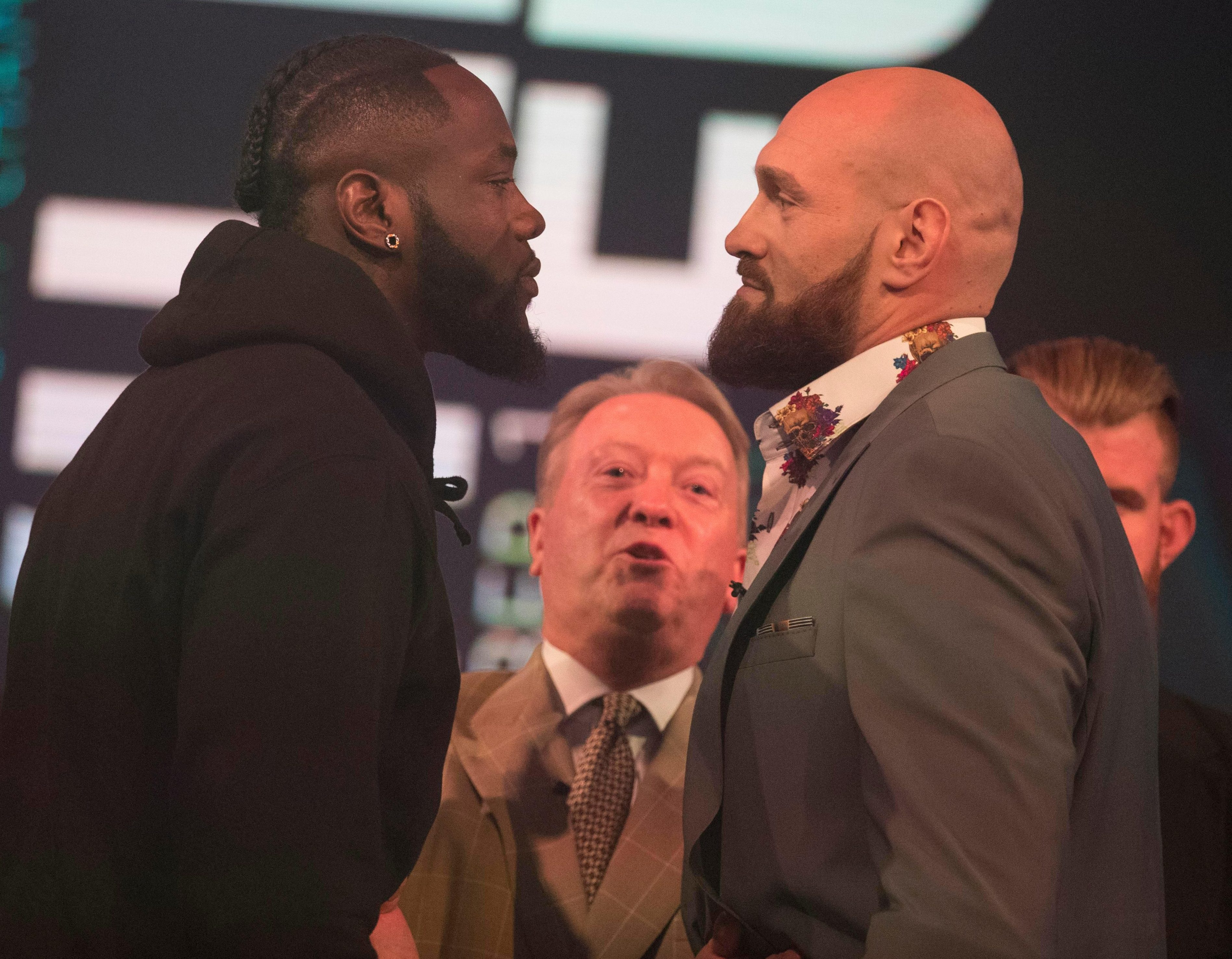 Wilder and Fury are set for a heavyweight showdown on December 1