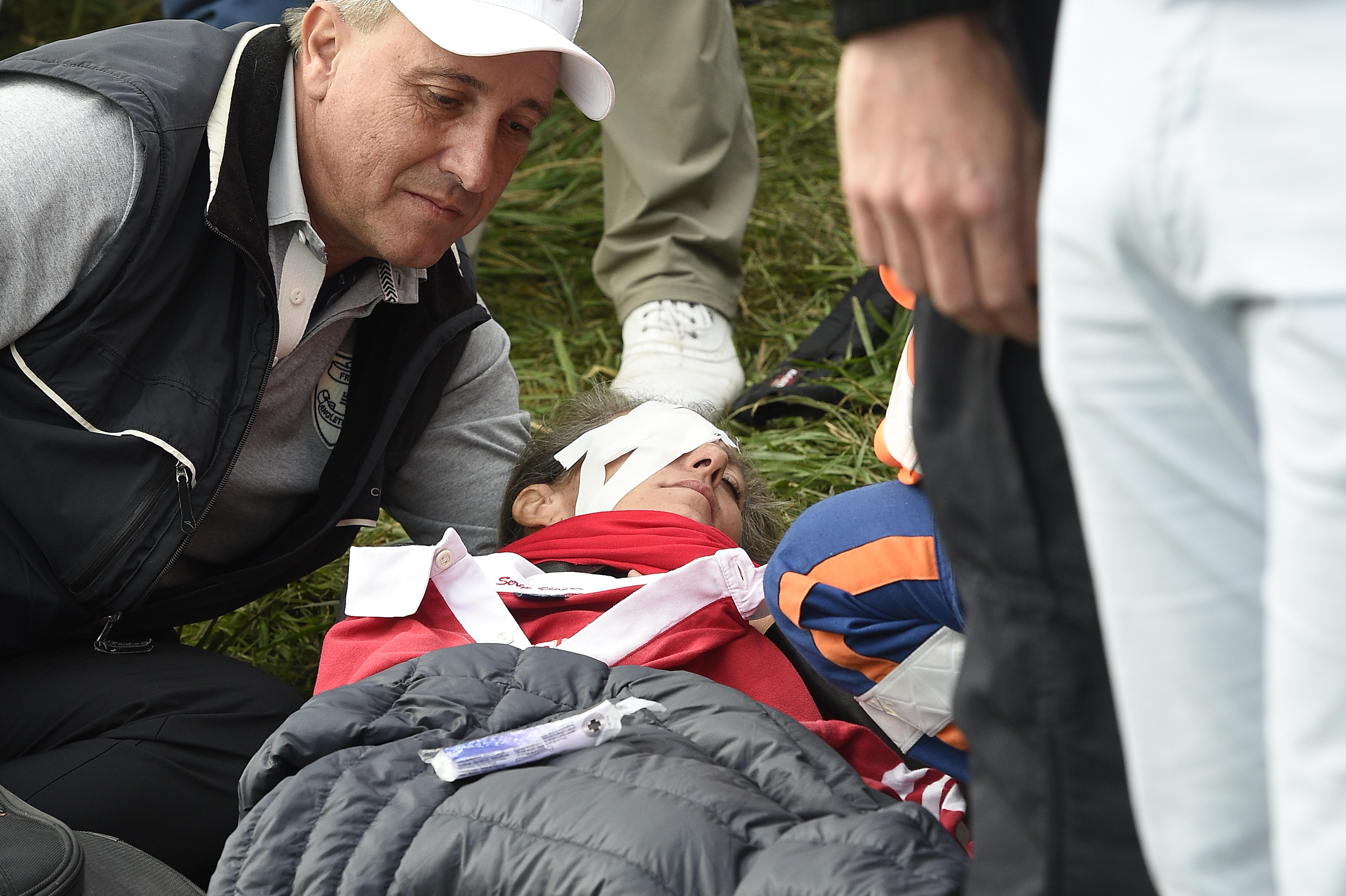 Corine Remande is reportedly set to sue the Ryder Cup organisers following the tragic incident