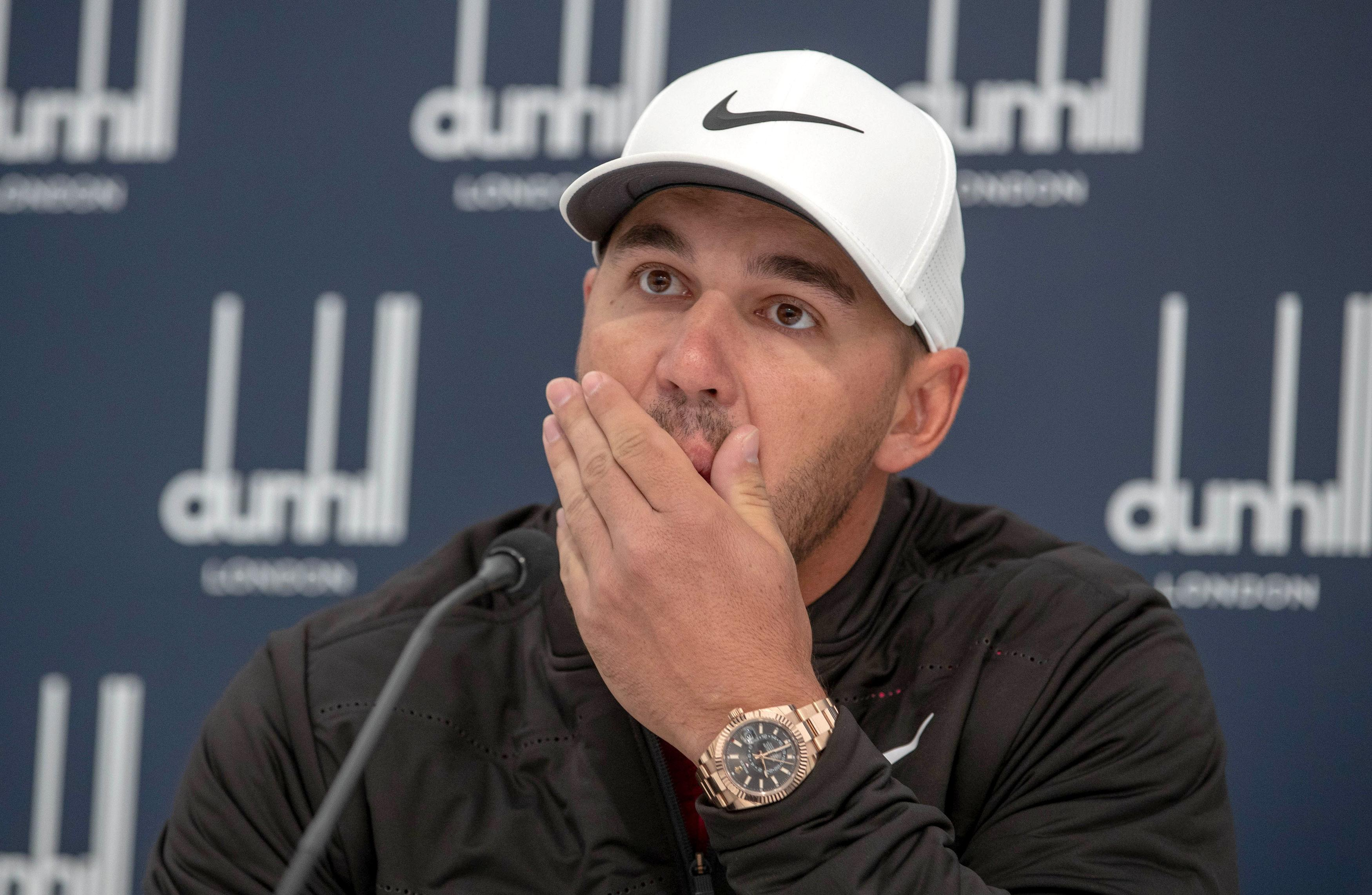 Koepka has revealed he has been left heartbroken after learning the news of Remande's injury
