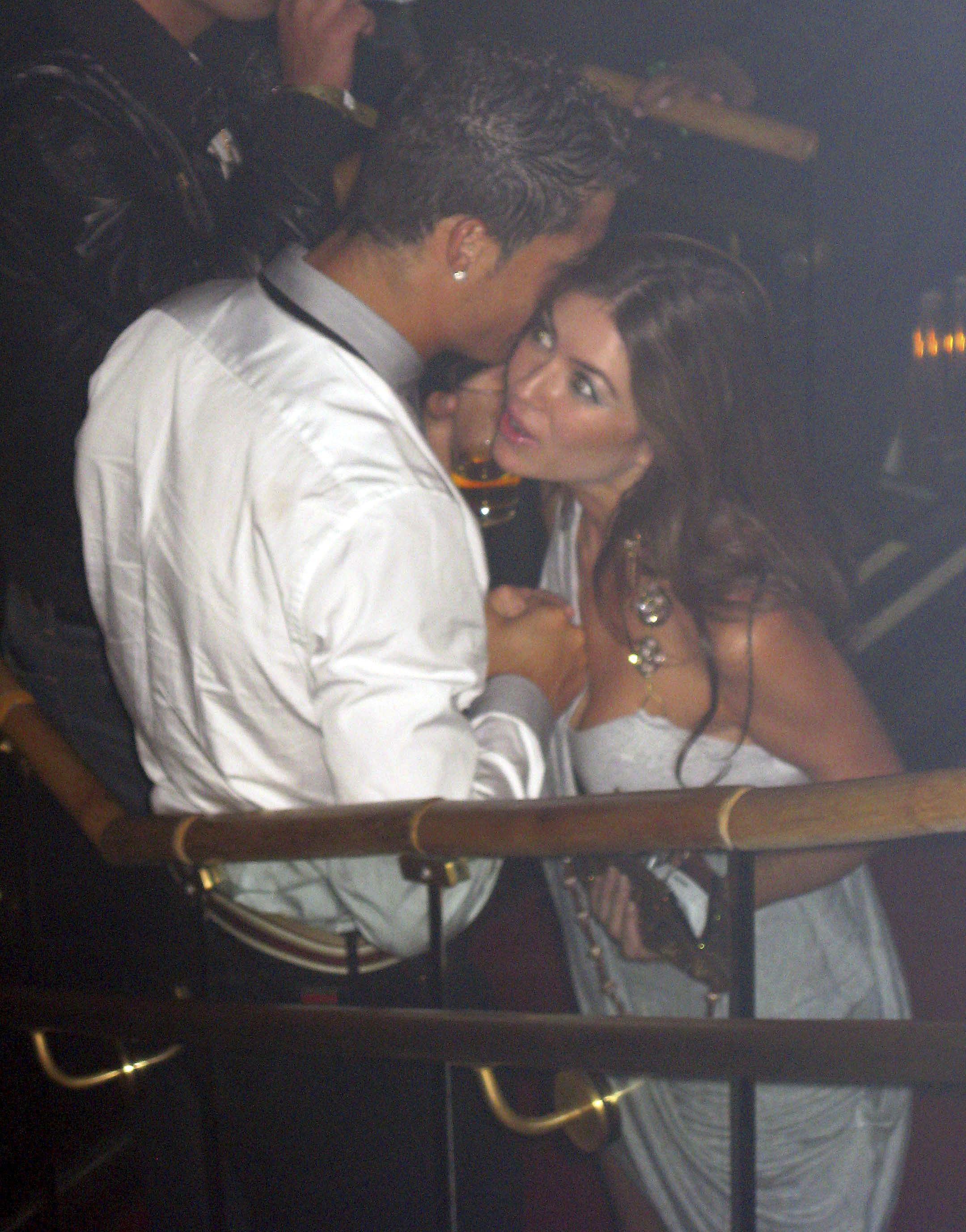Ronaldo was snapped with rape accuser in the Rain nightclub Las Vegas