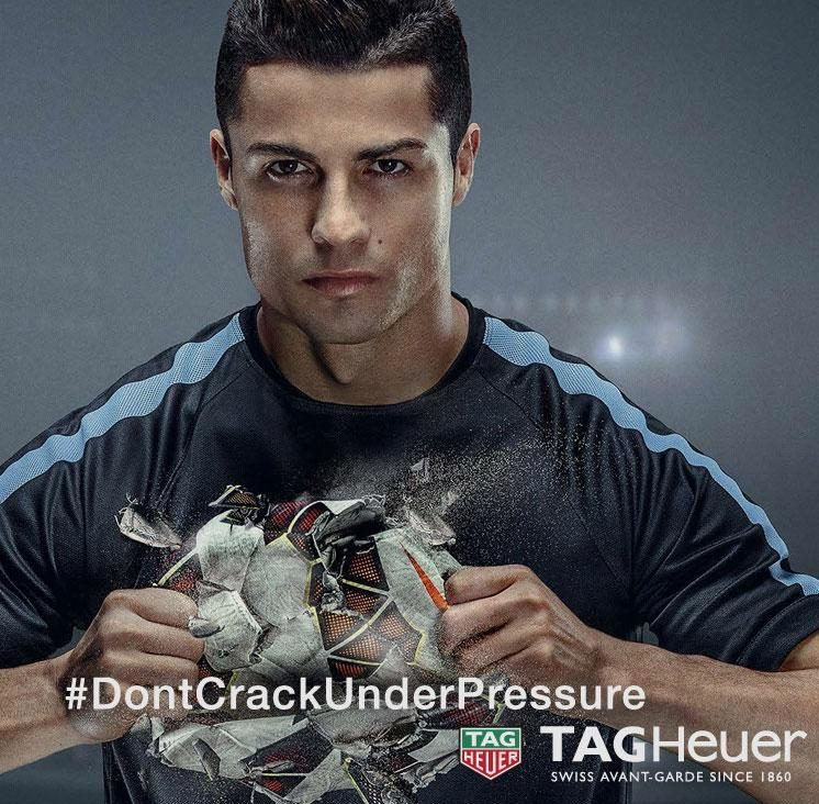 Ronaldo's £760k deal with Tag Heuer watches is among more than 30 the star has currently involved with