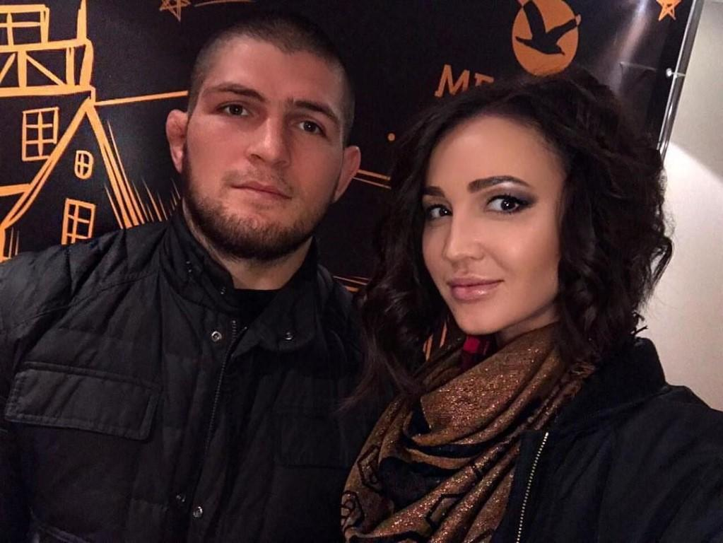 Khabib married his wife in 2013, but she has kept out of the public eye