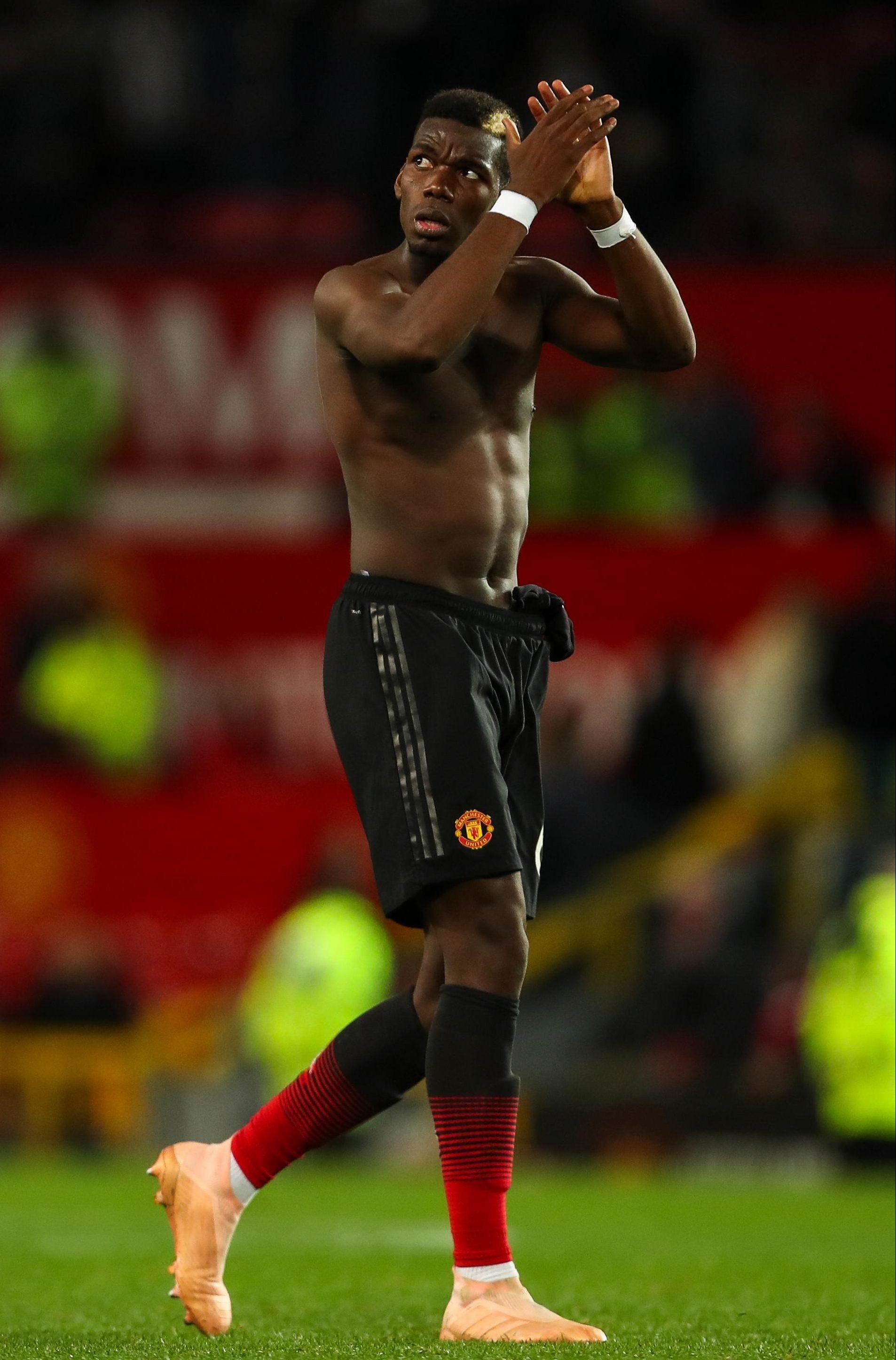 Paul Pogba helped save Jose Mourinho against Newcastle