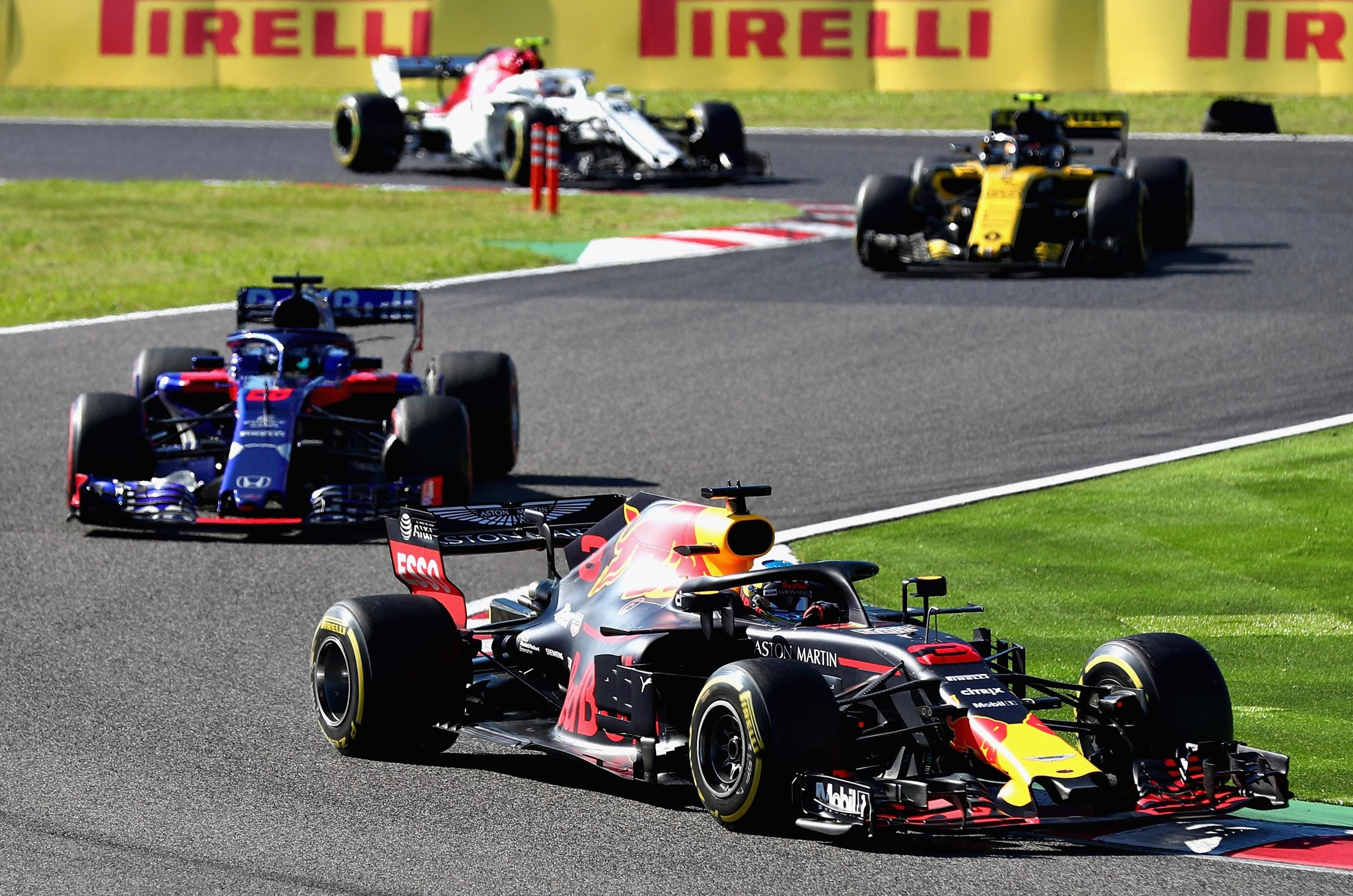 It was an excellent drive from Daniel Ricciardo who started 15th on the grid but worked his way up to fourth