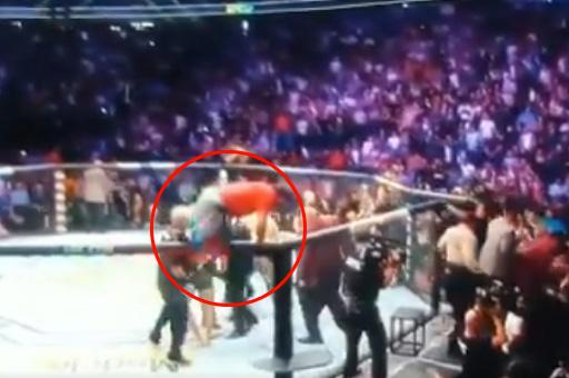 McGregor was attacked by three members of Khabib's team after the fight