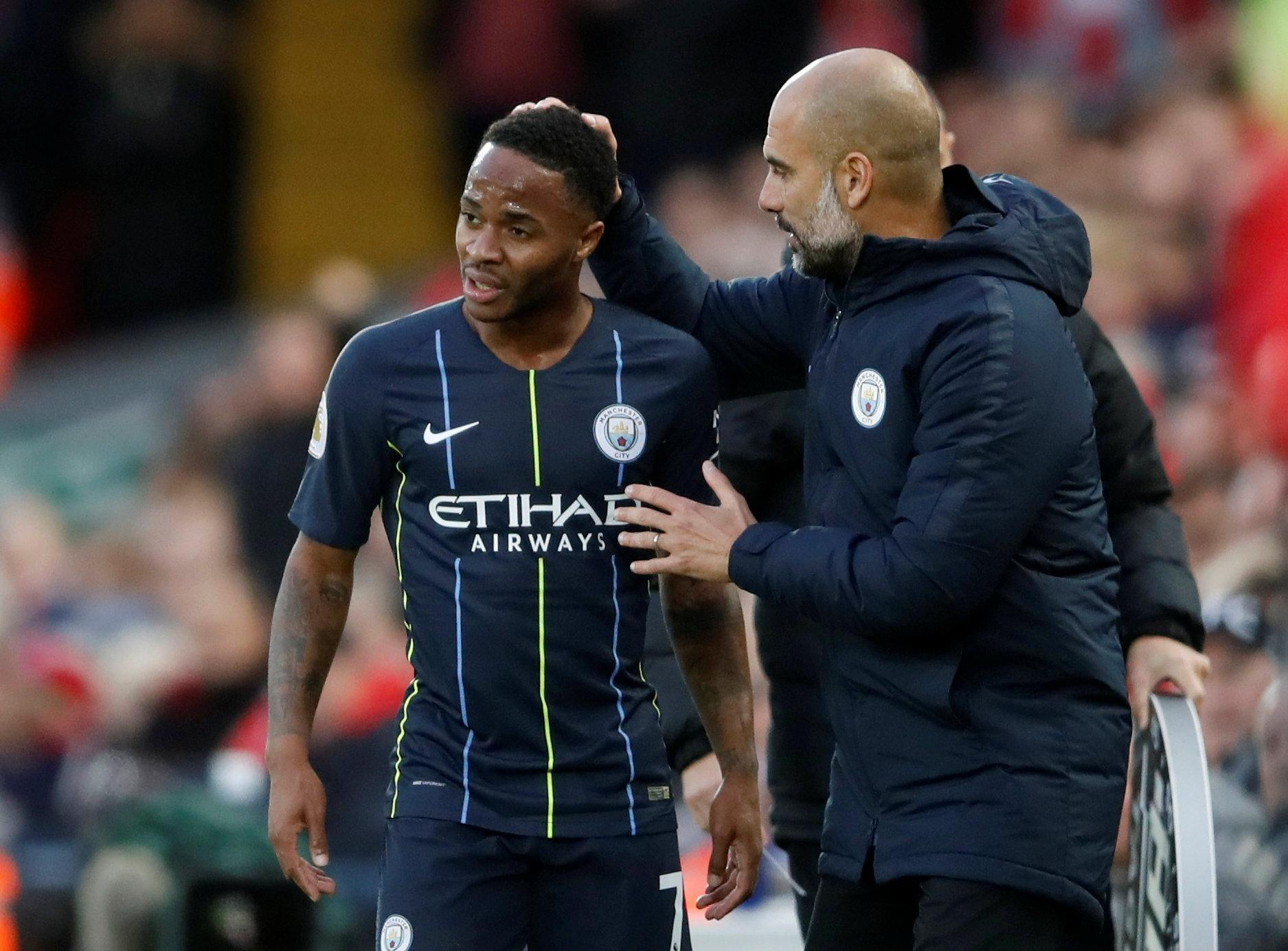 Raheem Sterling only has 18 months left on his current Man City contract