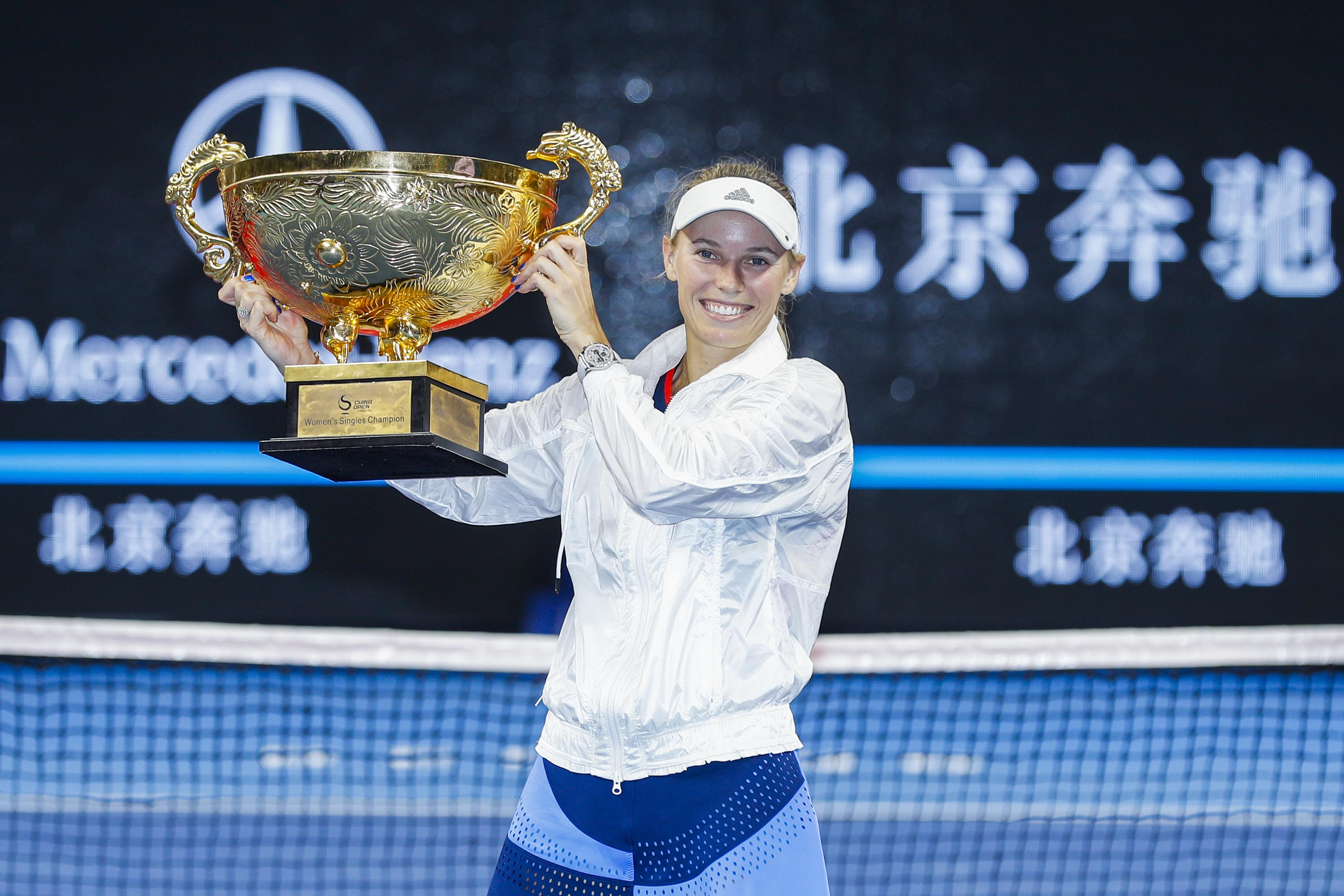 The 28-year-old won the China Open after she was informed that she was suffering with arthritis
