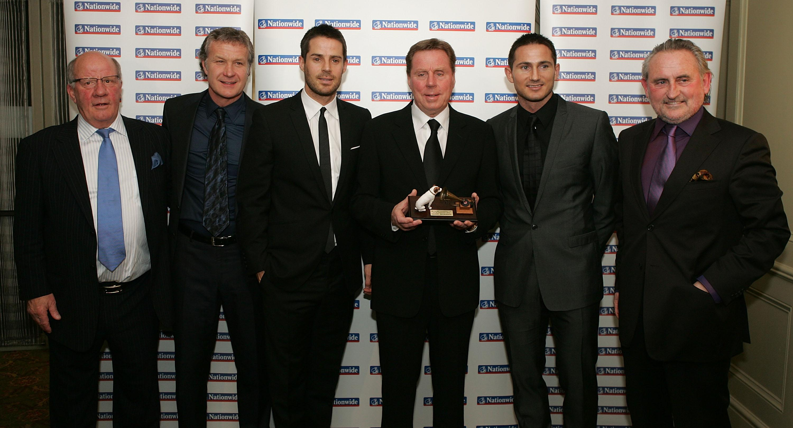 Lampard's uncle Harry Redknapp won the award in 2009