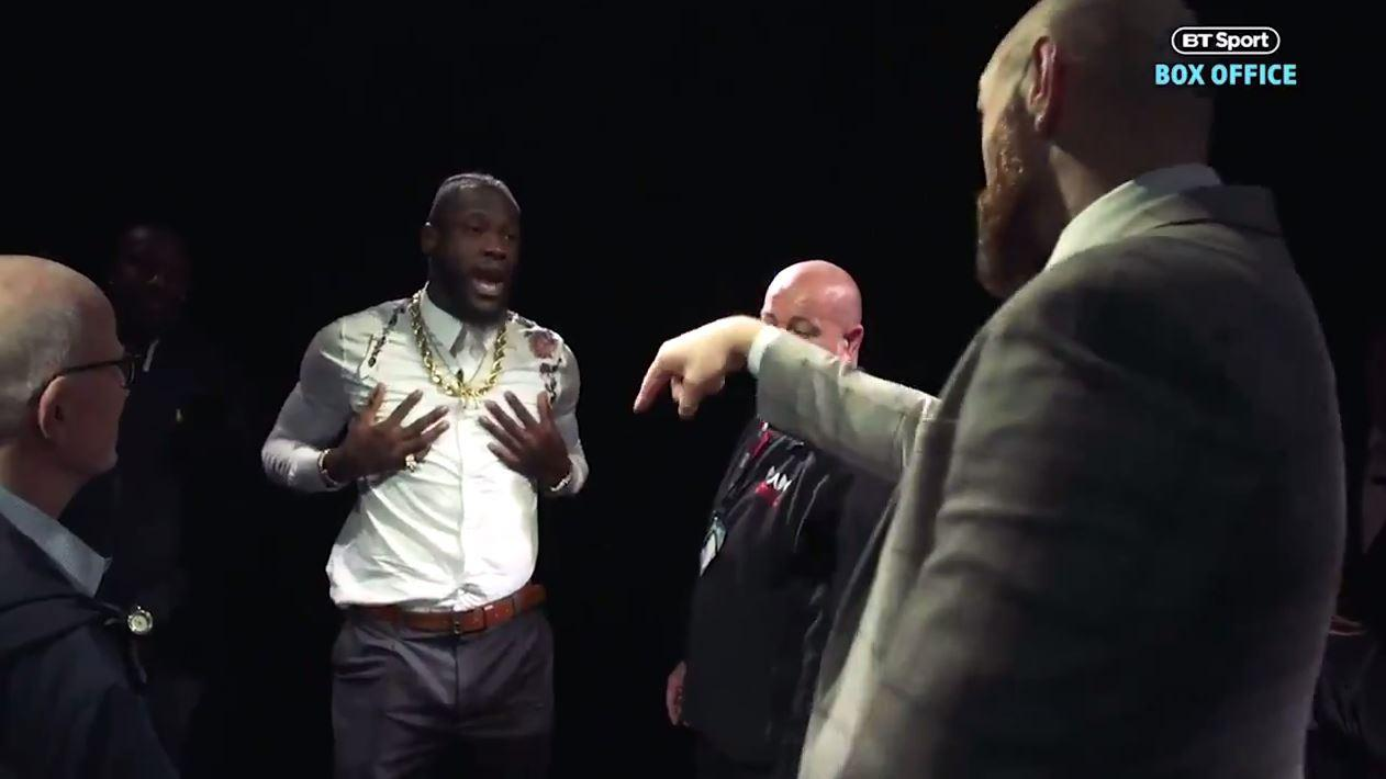 Deontay Wilder maintained he was the real 'king' and will prove it when the two heavyweights fight on December 1