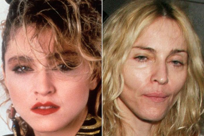 Madonna's look has changed a number of times over the years