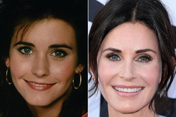 The former Friends star has totally transformed from her early acting days