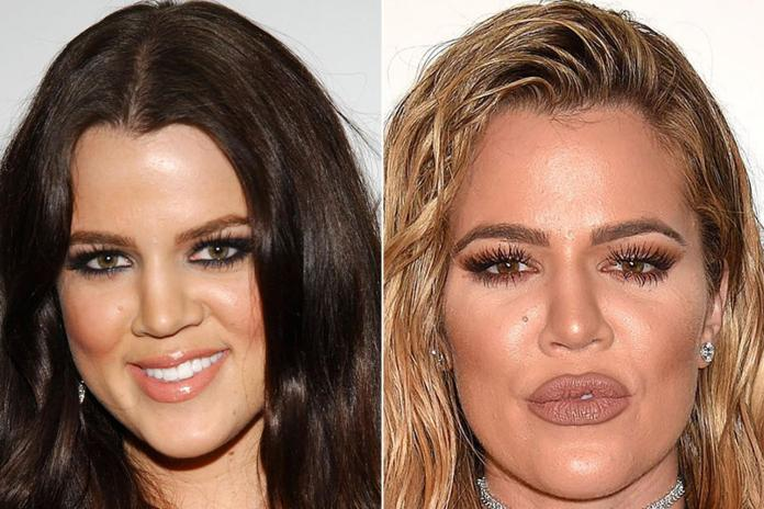 Members of the famous Kardashian family are always changing their appearance