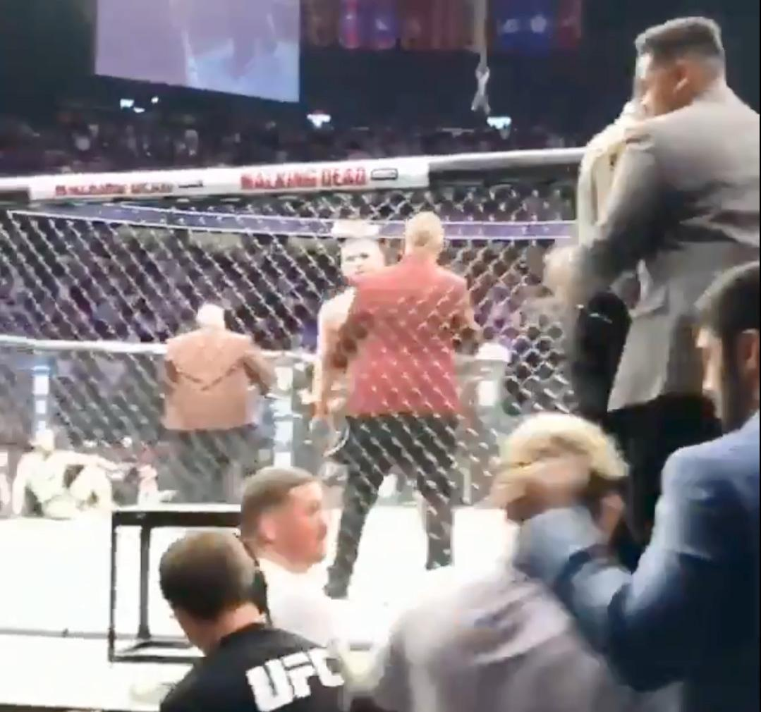 Danis turns round to confront Magomedov