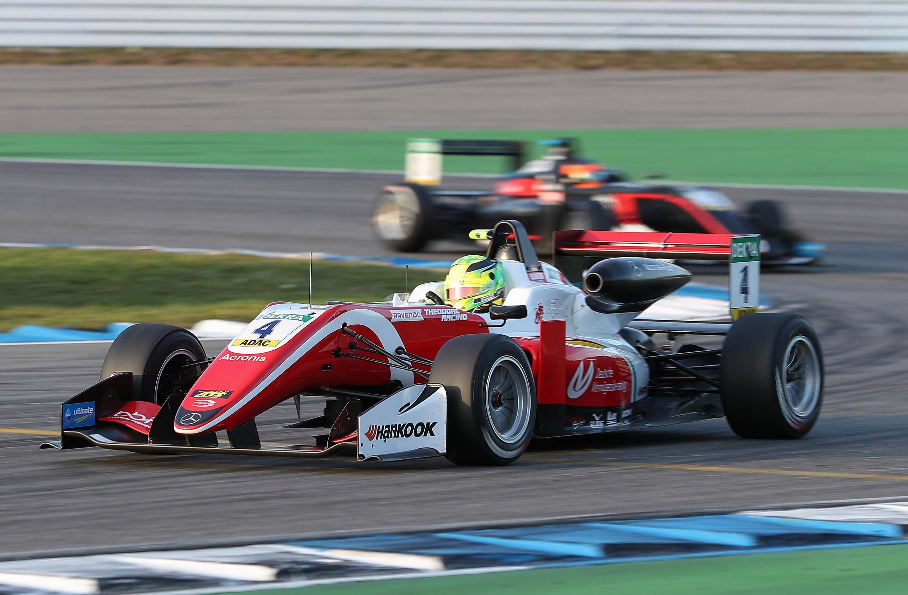 Mick Schumacher sealed his first title success with second spot in the second race at Hockenheim