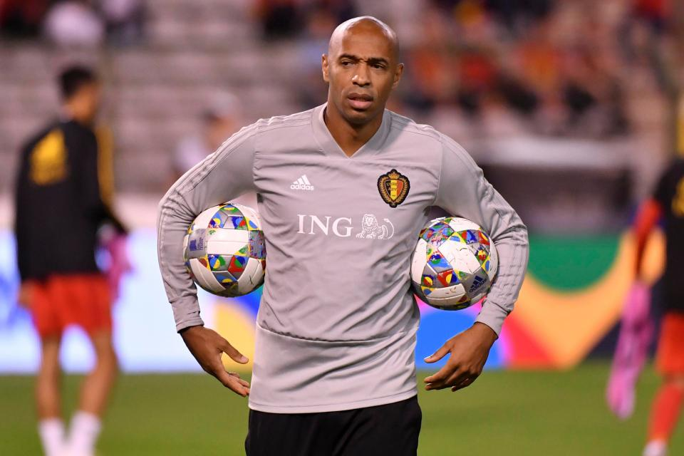 Henry has quit his coaching role with Belgium to take charge of Monaco