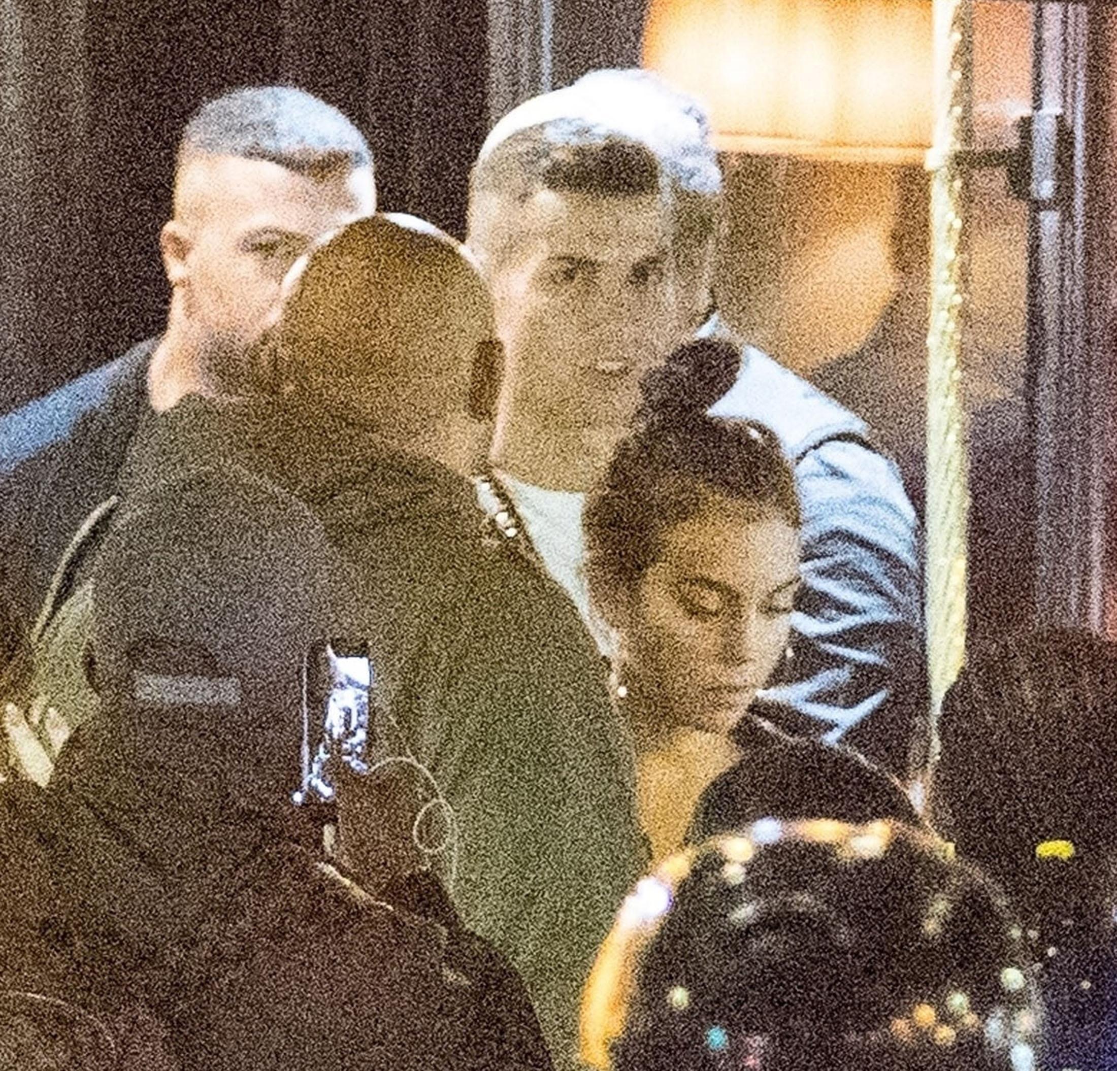 Cristiano Ronaldo and his girlfriend Georgina Rodriguez at the Cesar restaurant in Paris this week