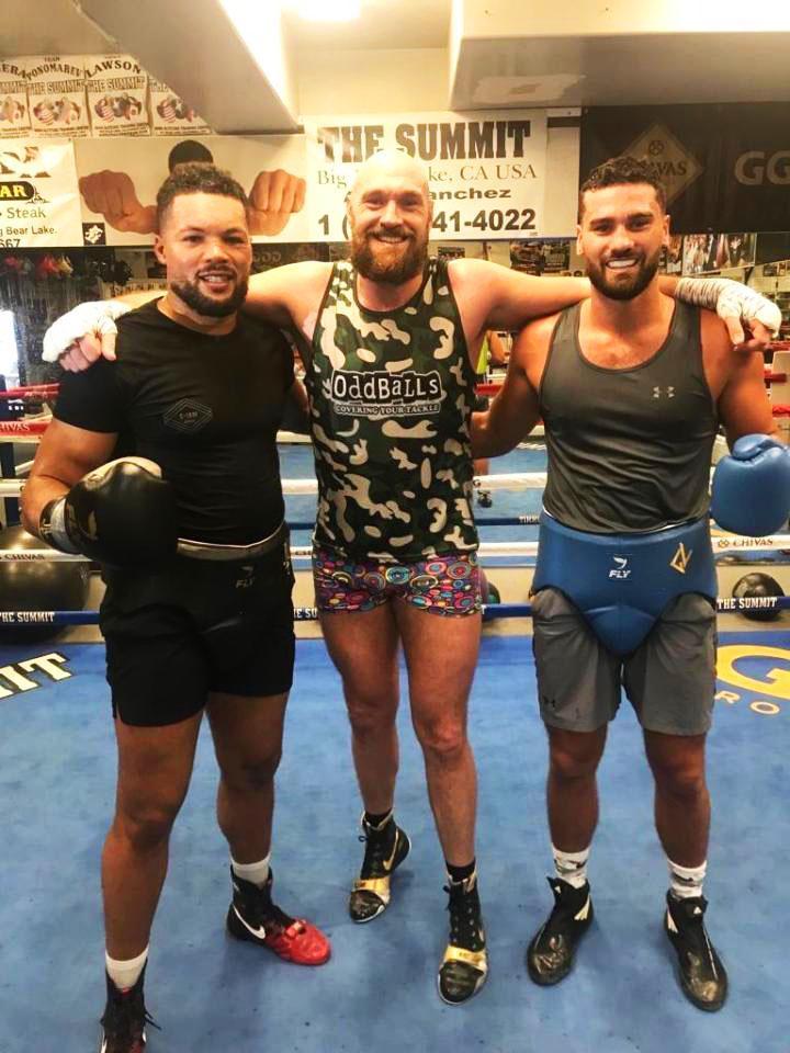 Tyson Fury will spar alongsideJoe Joyce and Guido Vianello in the build-up to Wilder