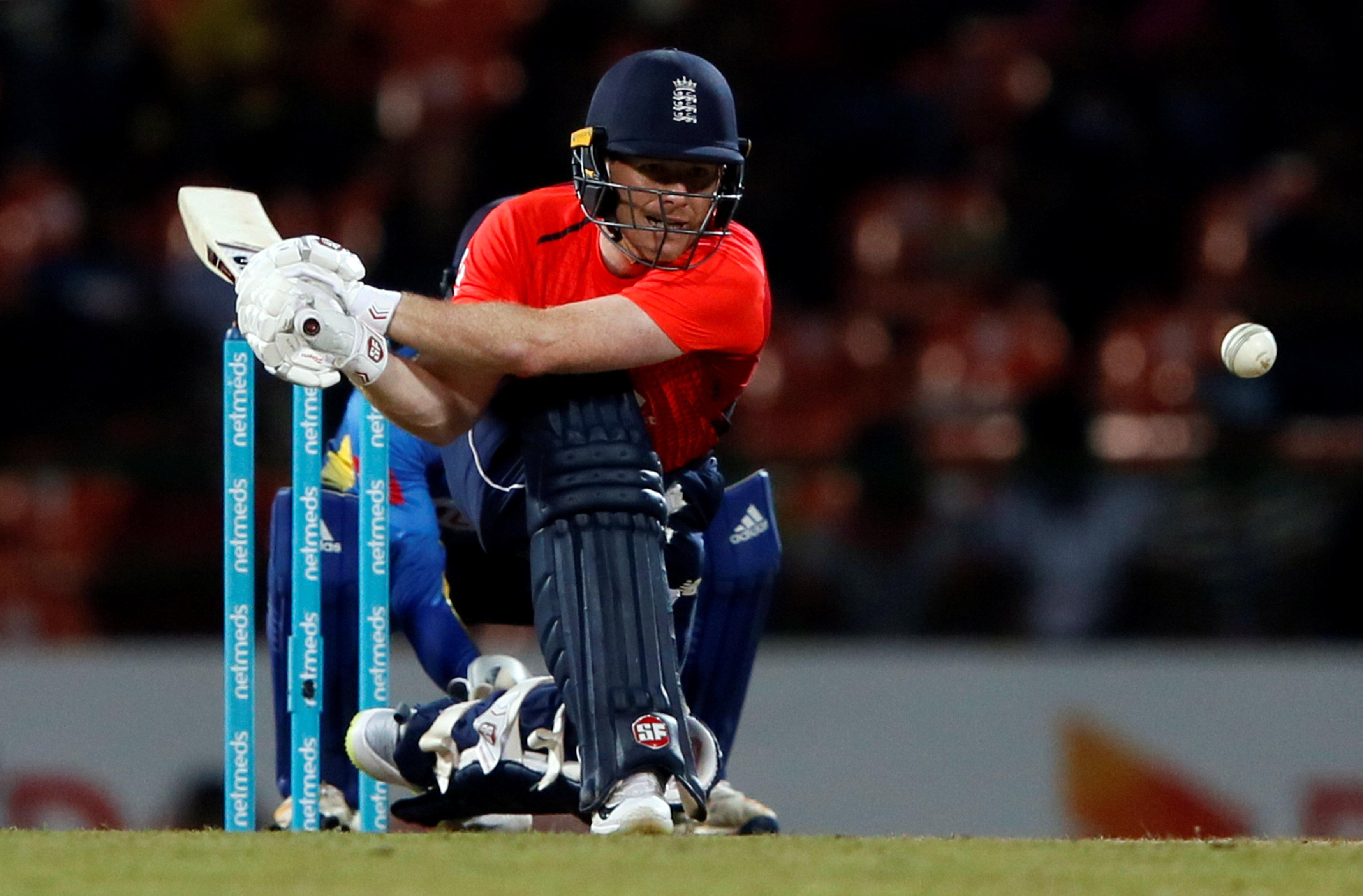 Eoin Morgan hit a brilliant 50 as England cruised to their target of 151